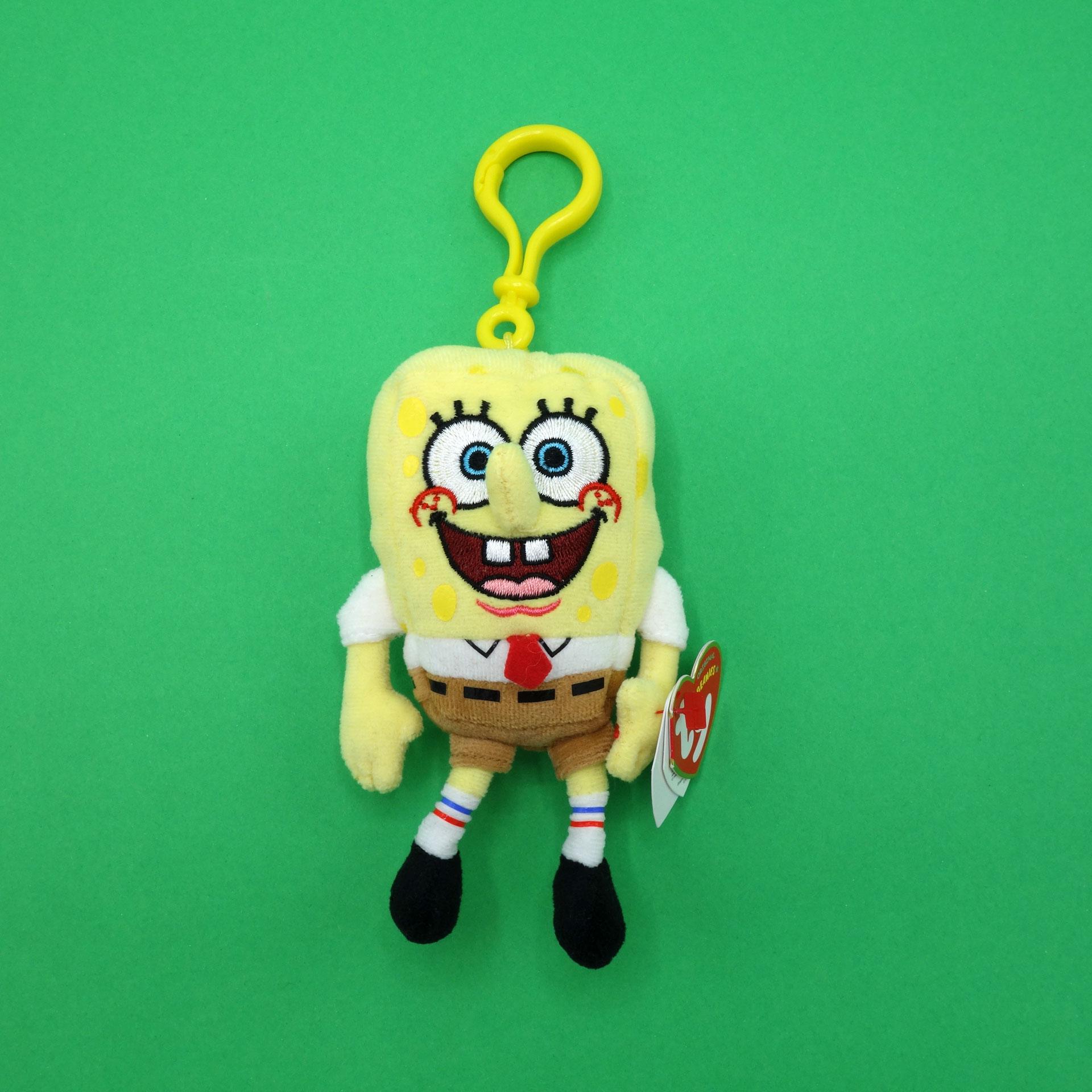 SpongeBob Schwammkopf Plüsch Schlüsselanhänger ty