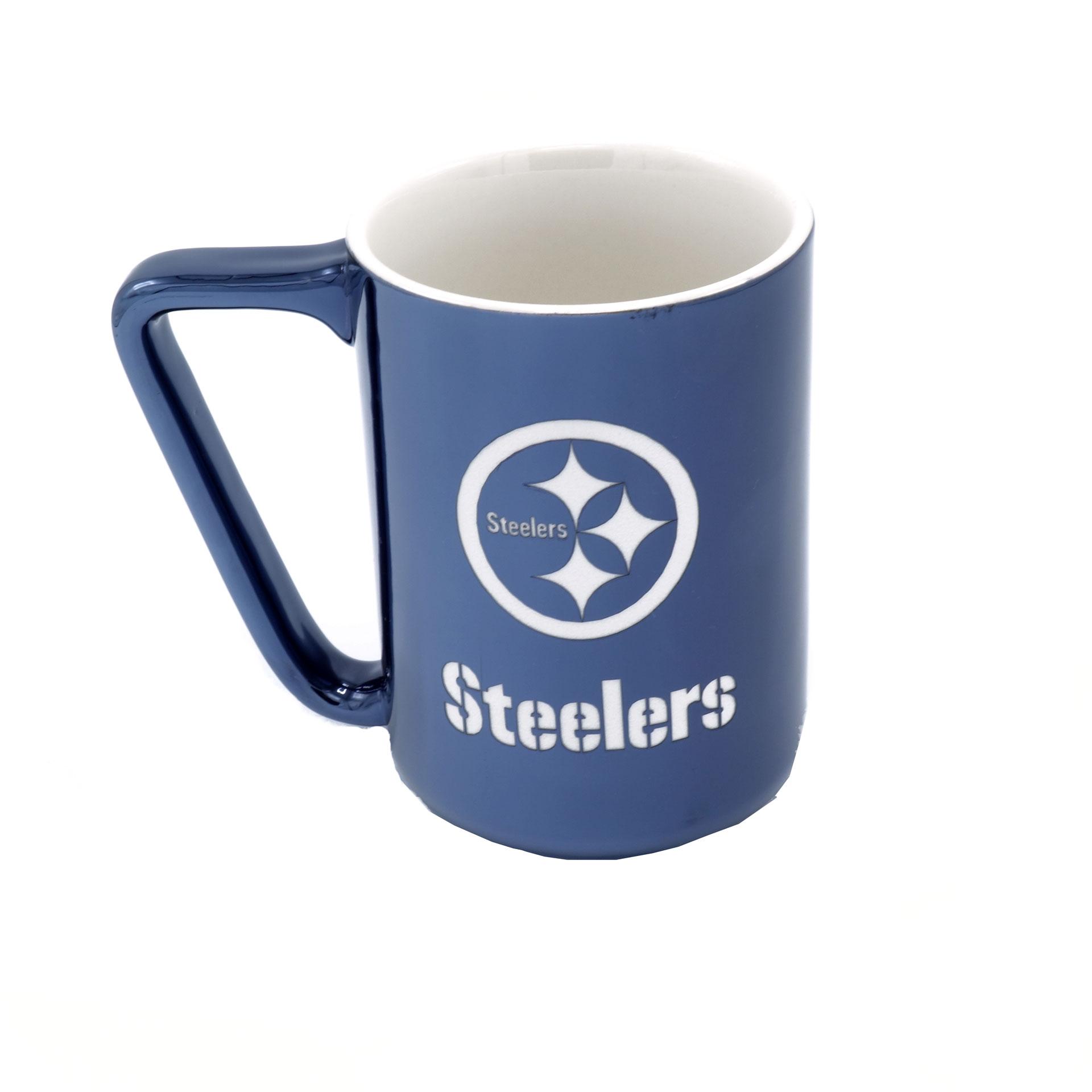 NFL Becher Pittsburgh Steelers Metallic