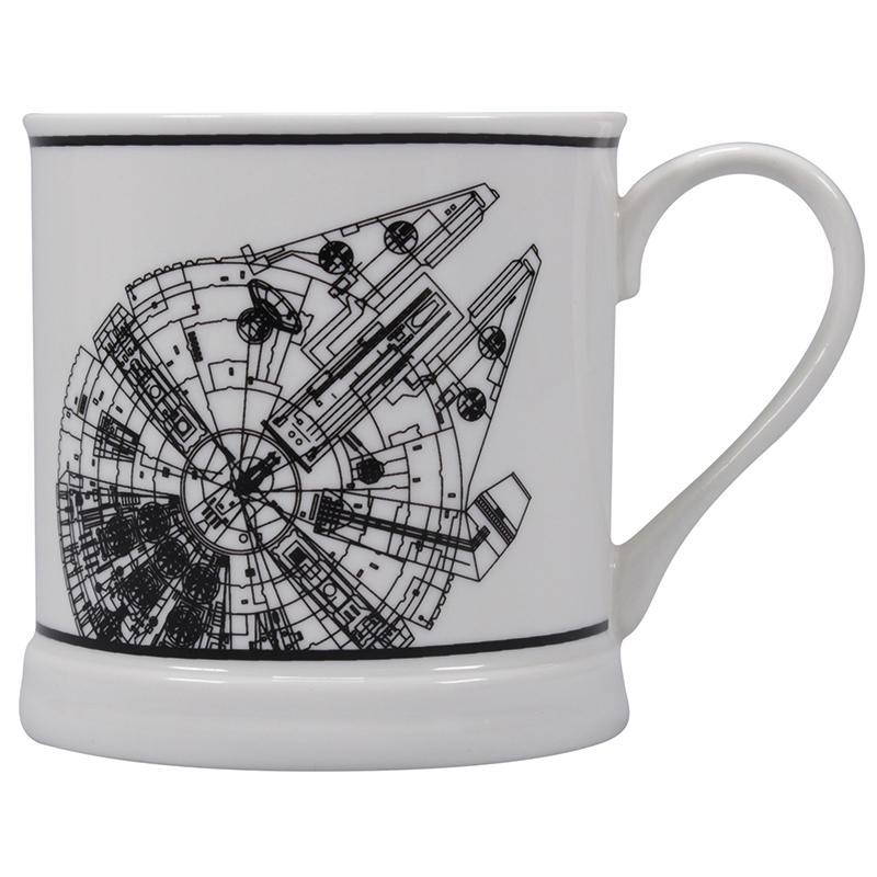 "Star Wars Tasse ""Millennium Falcon"" Vintage Mug"