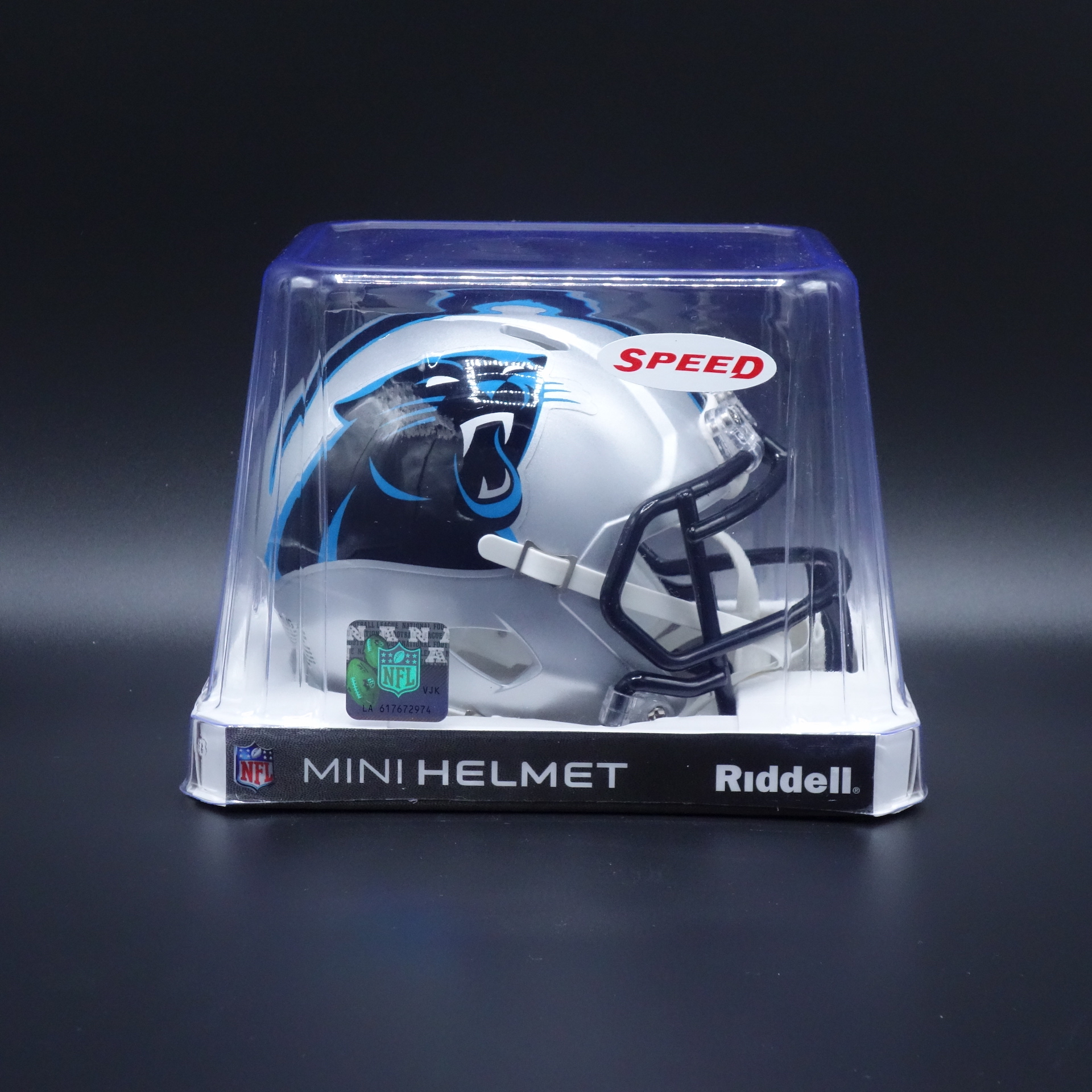 NFL Carolina Panthers Riddell Helm Speed