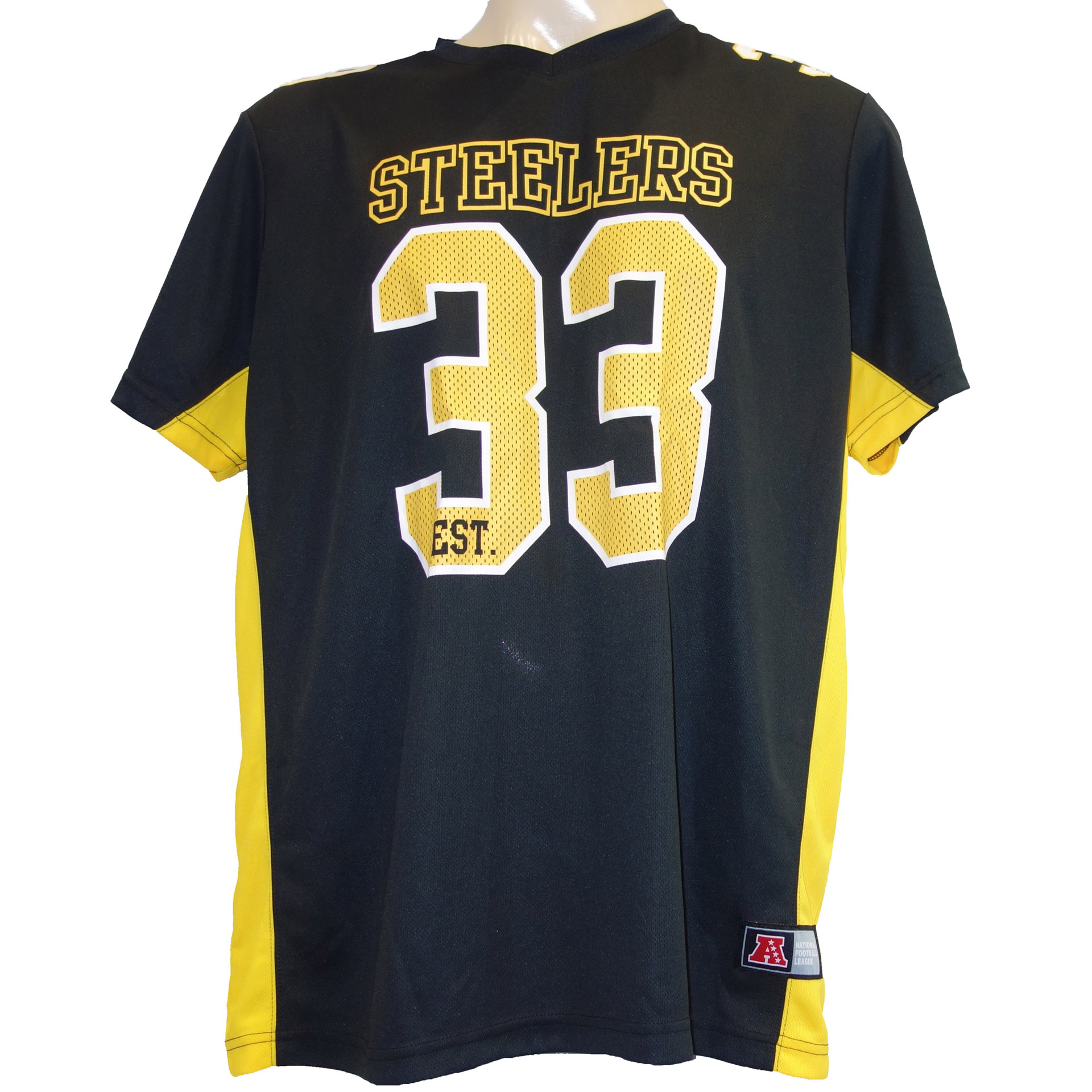 NFL T-Shirt Pittsburgh Steelers Poly Mesh
