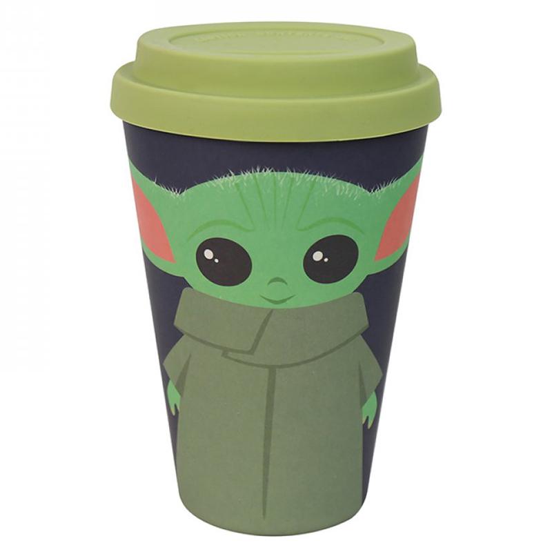 Der Mandalorian Coffee To Go Becher Bambus, Bamboo Travel Mug