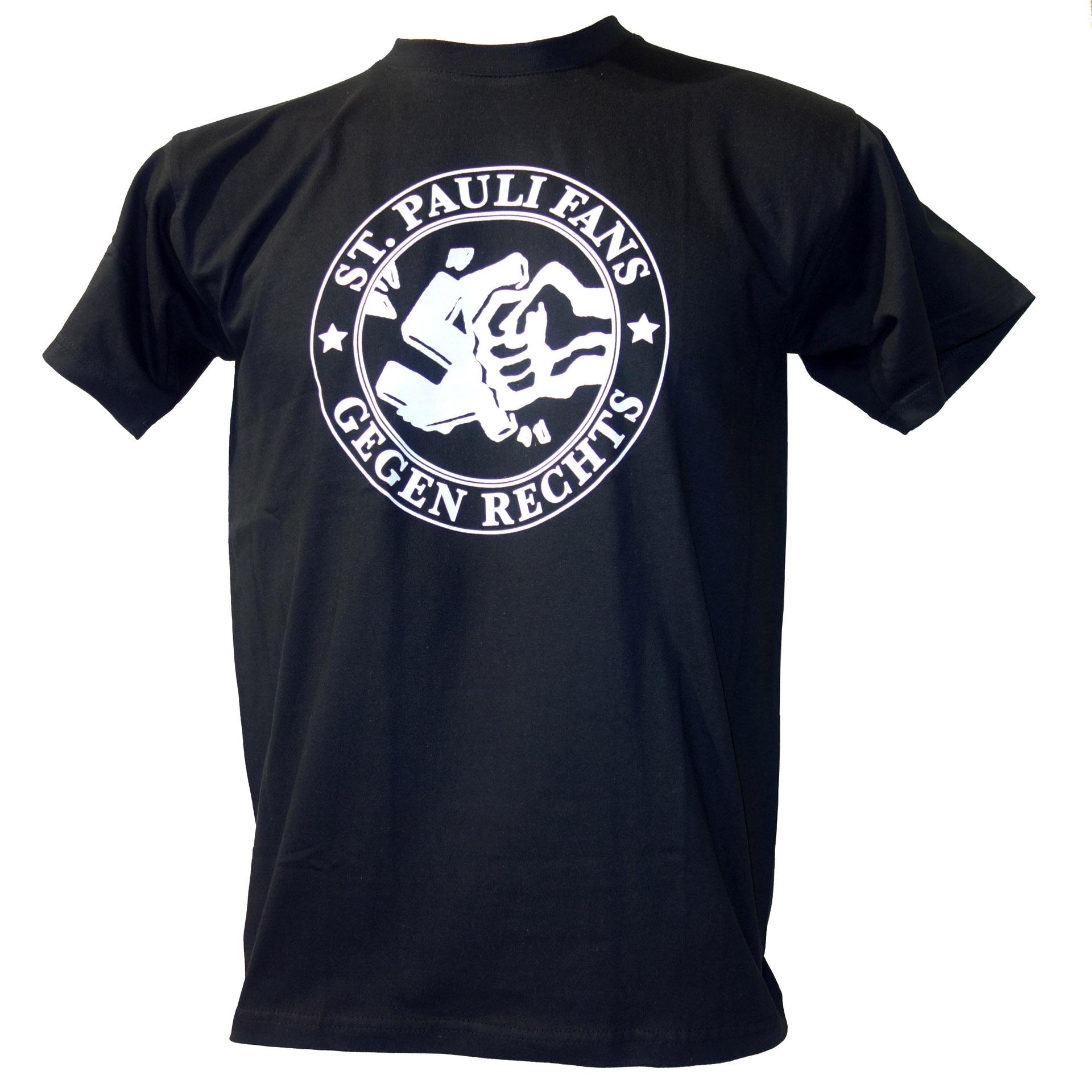 FC St. Pauli T-Shirt Gegen Rechts