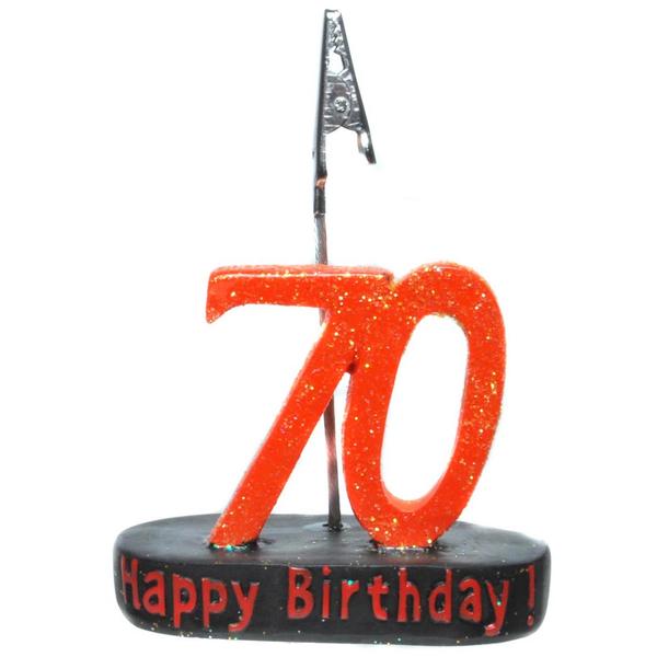 "Geburtstagsgeschenk Clip ""70"" Geldgeschenk"