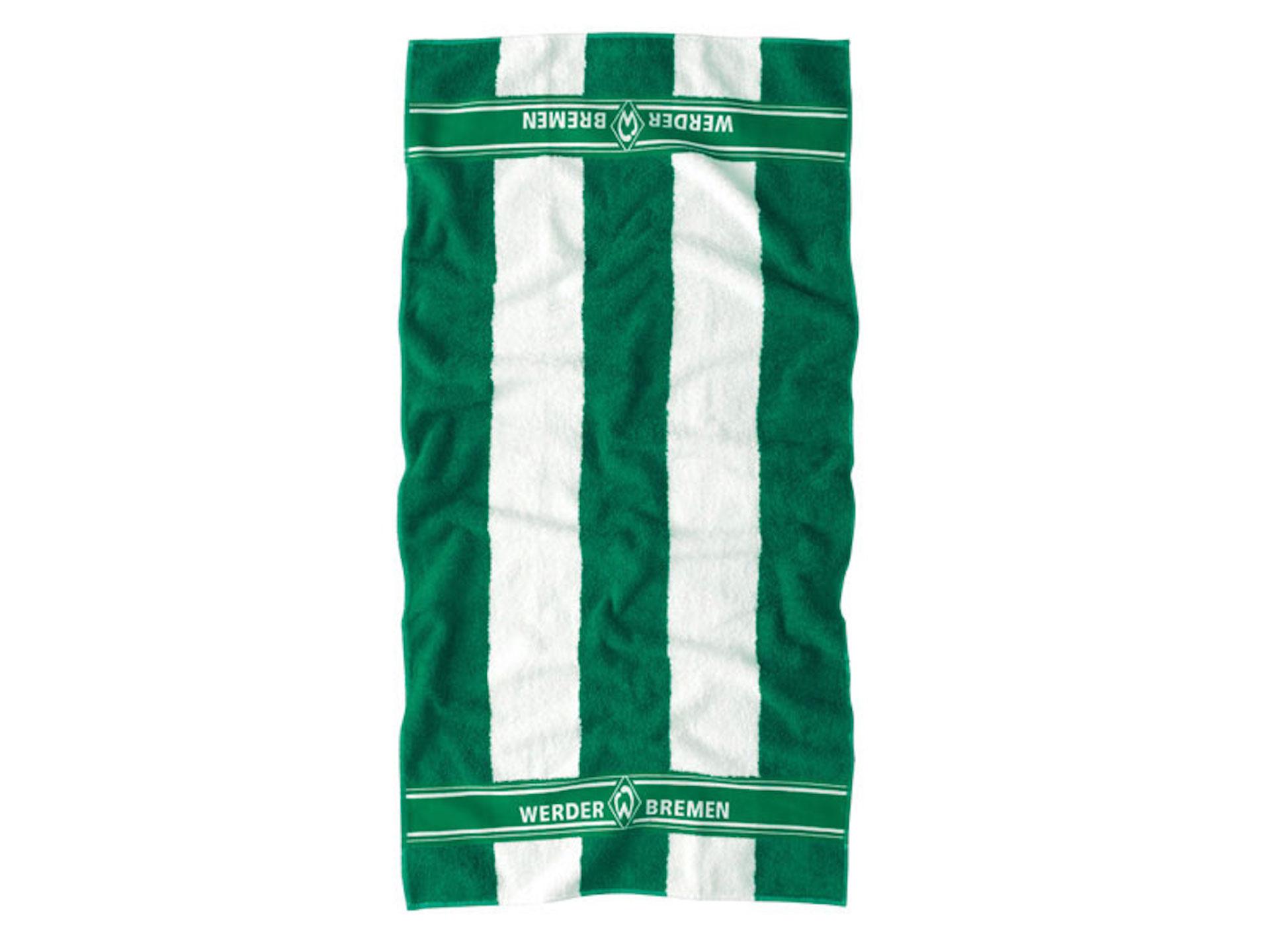 Werder Bremen Handtuch Blockstreifen