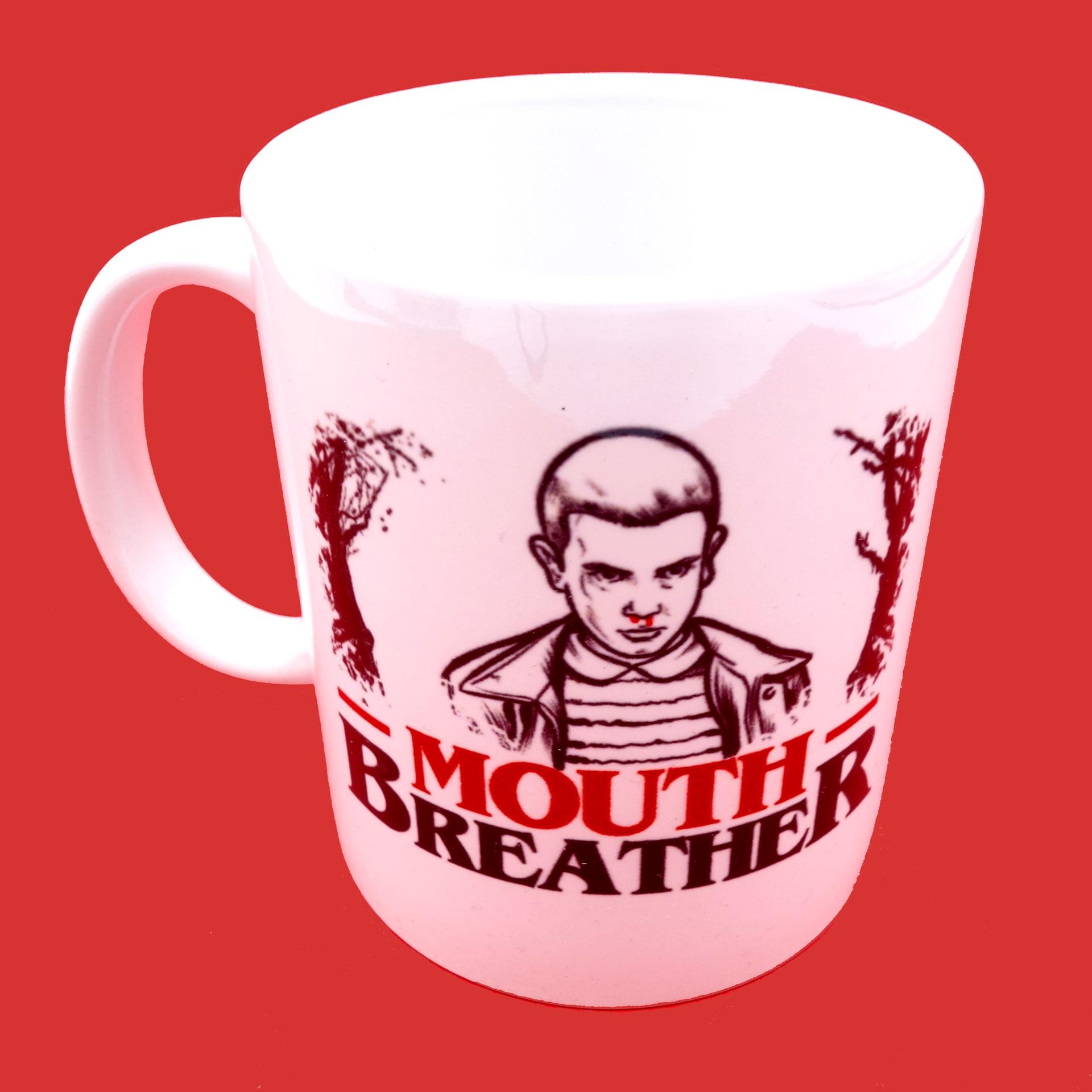 Stranger Things Tasse Mouth Breather Becher