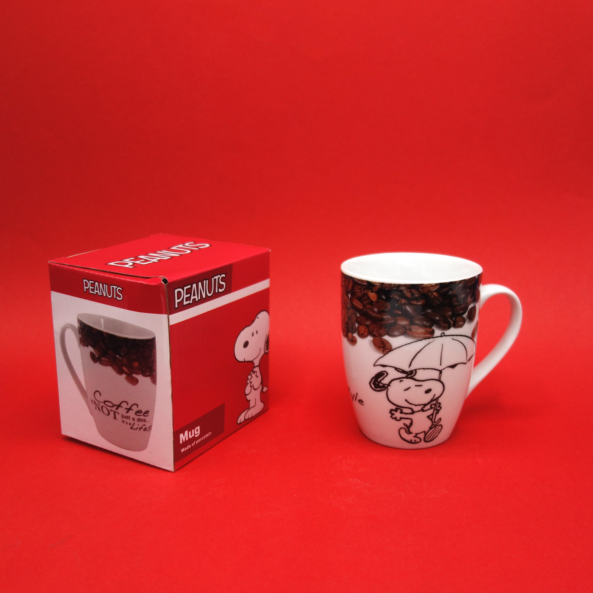 Snoopy Peanuts Tasse Coffee Is Not Just A Drink