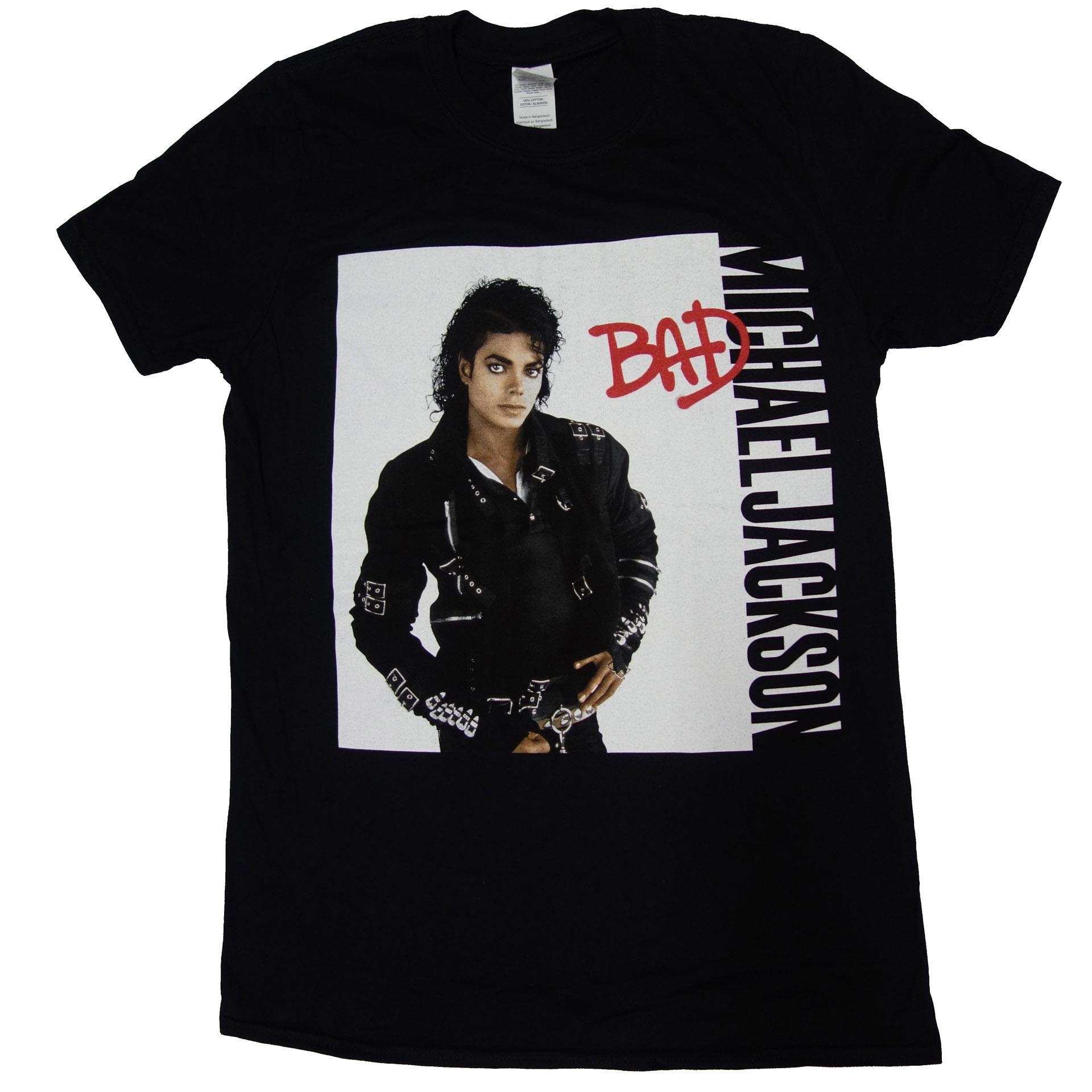 T-Shirt Michael Jackson Bad