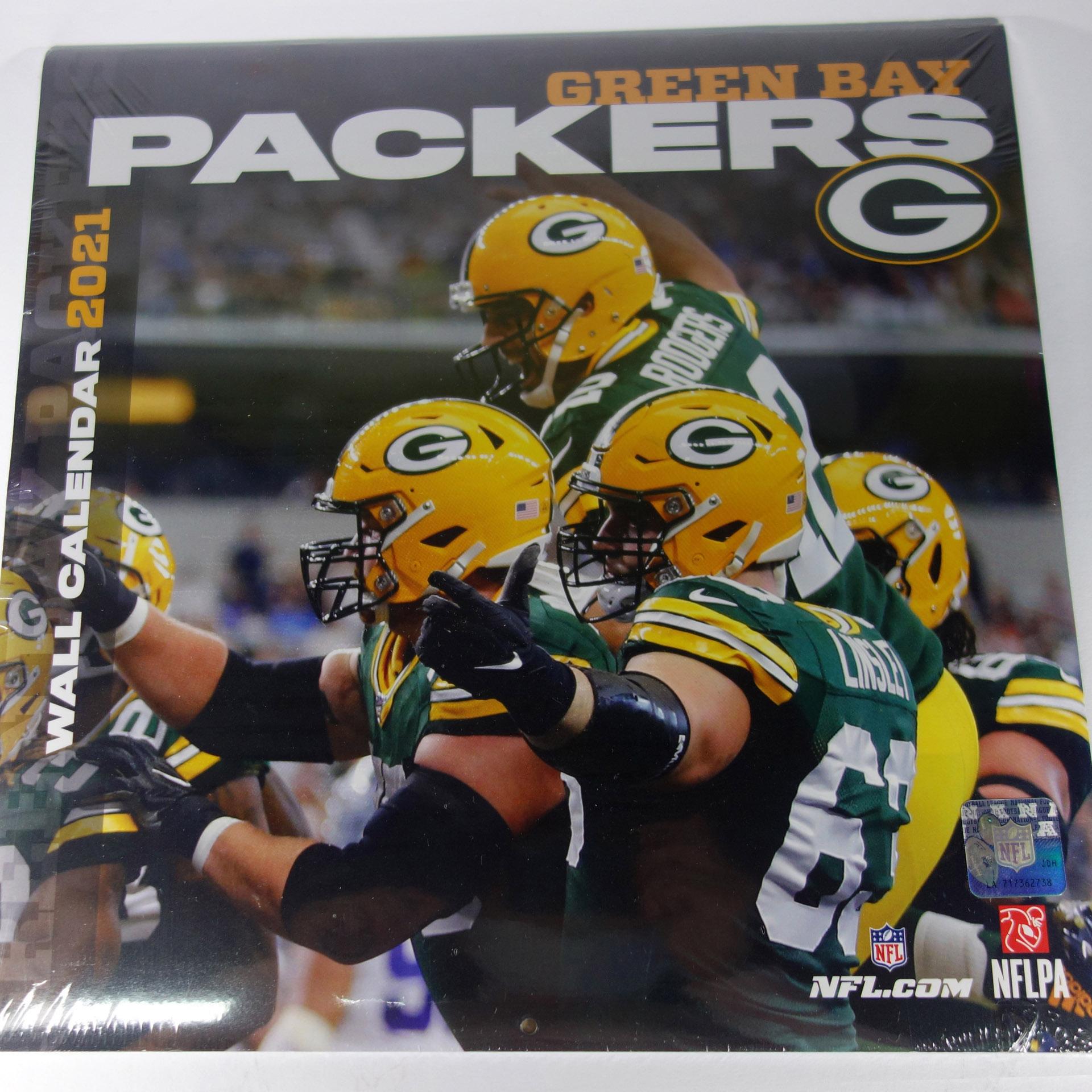 NFL Wandkalender Green Bay Packers 2021