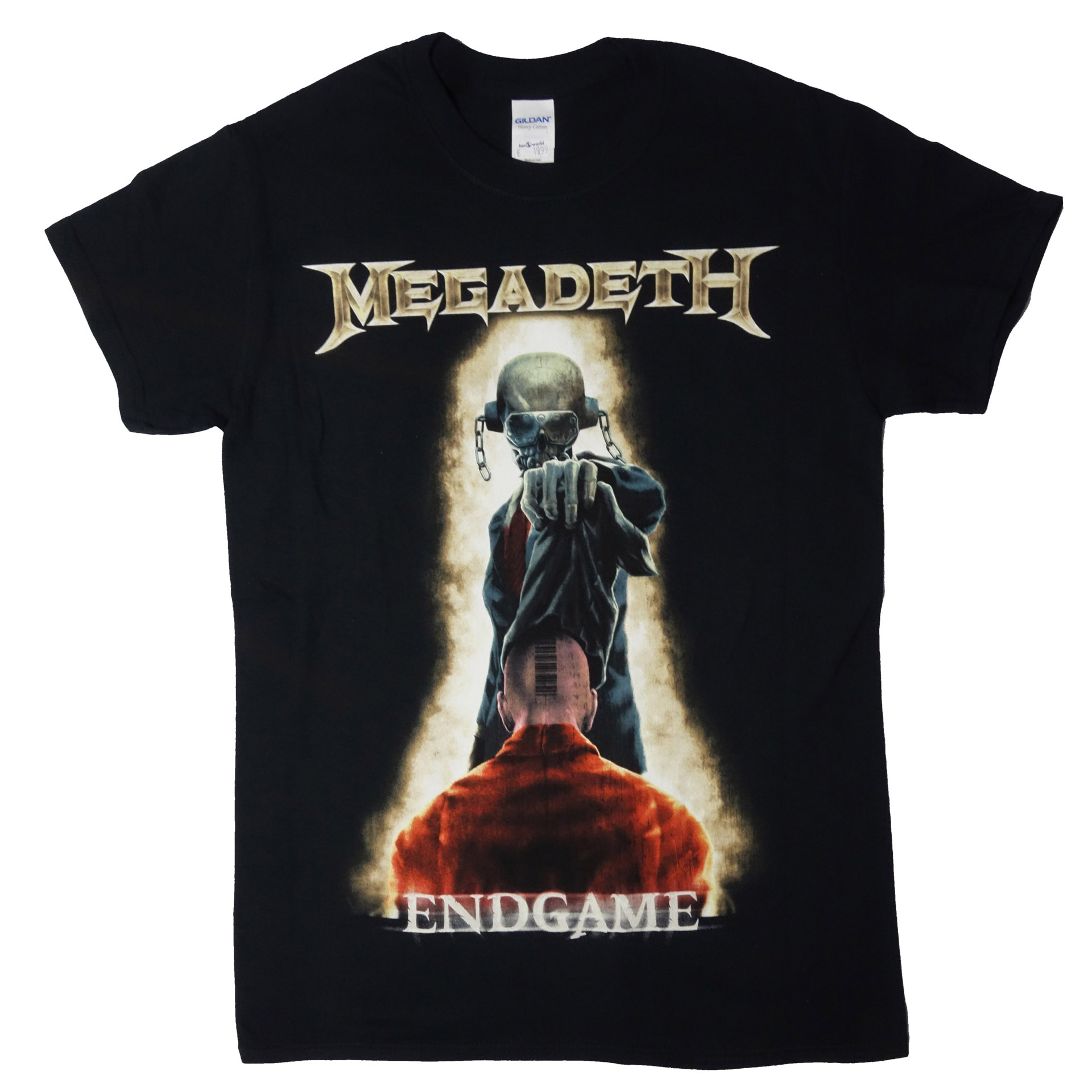 T-Shirt Megadeth Vic Removing Hood