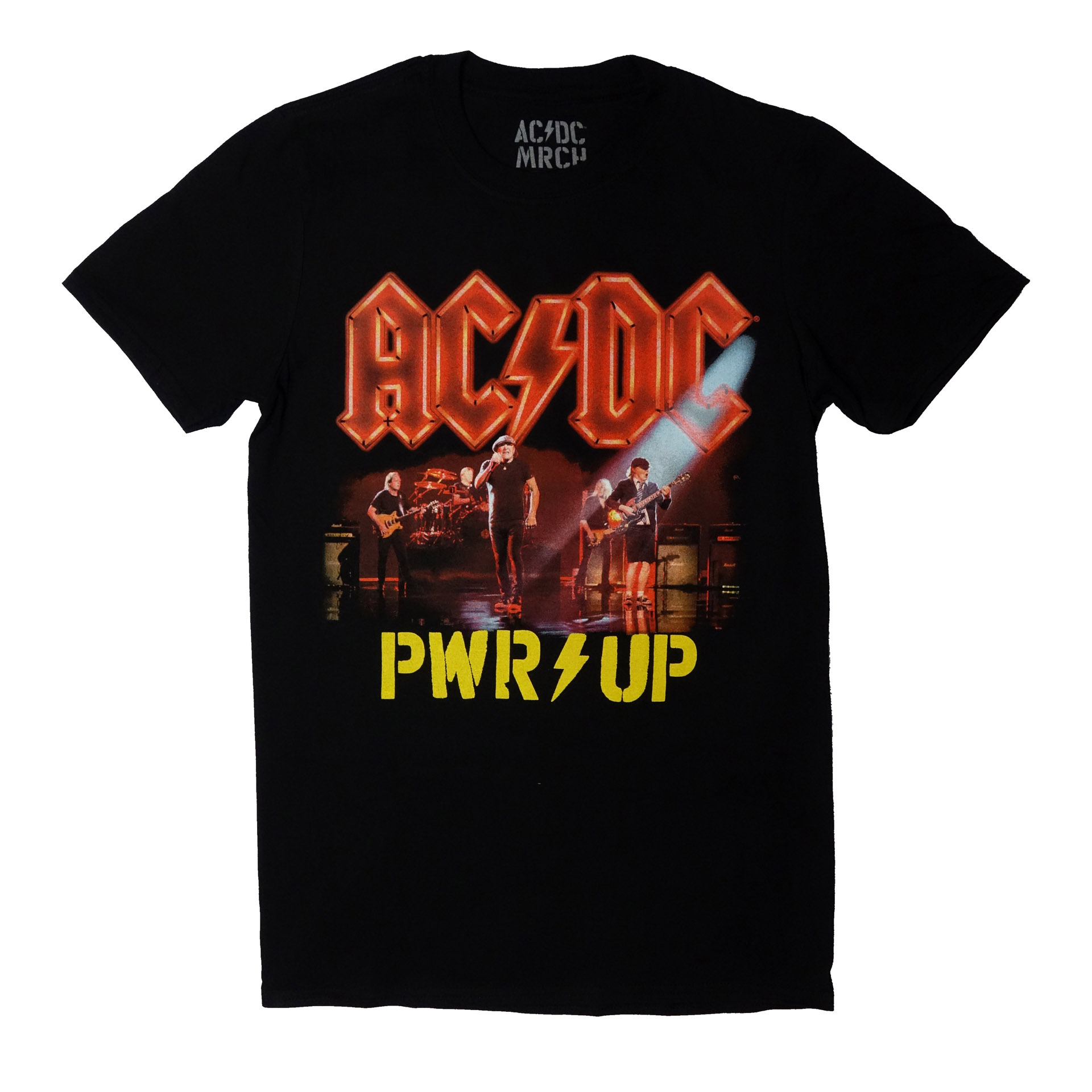 T-Shirt AC/DC Power Up Neon Live