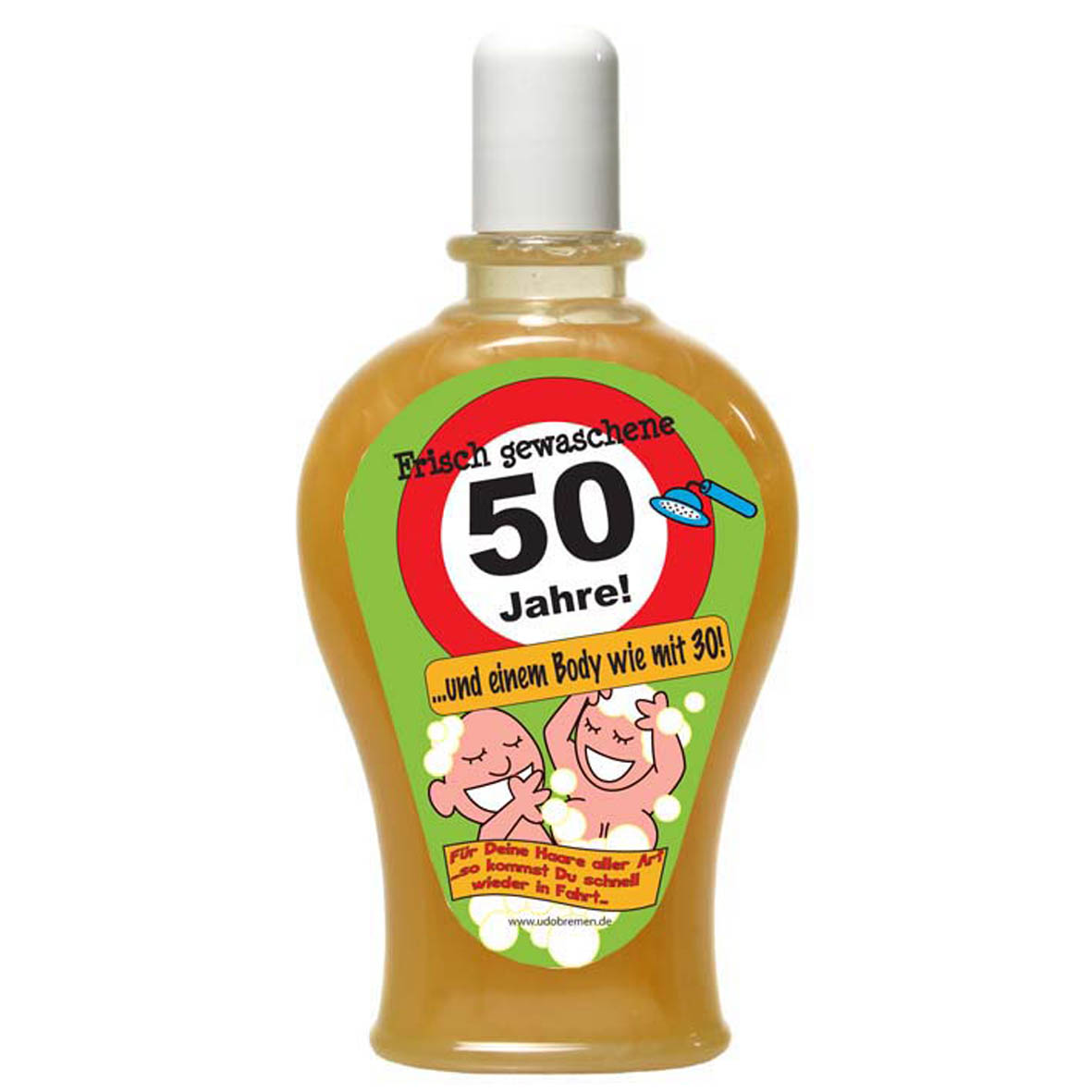 """Geburtstagsgeschenk Shampoo """"50"""" Spaßartikel"""