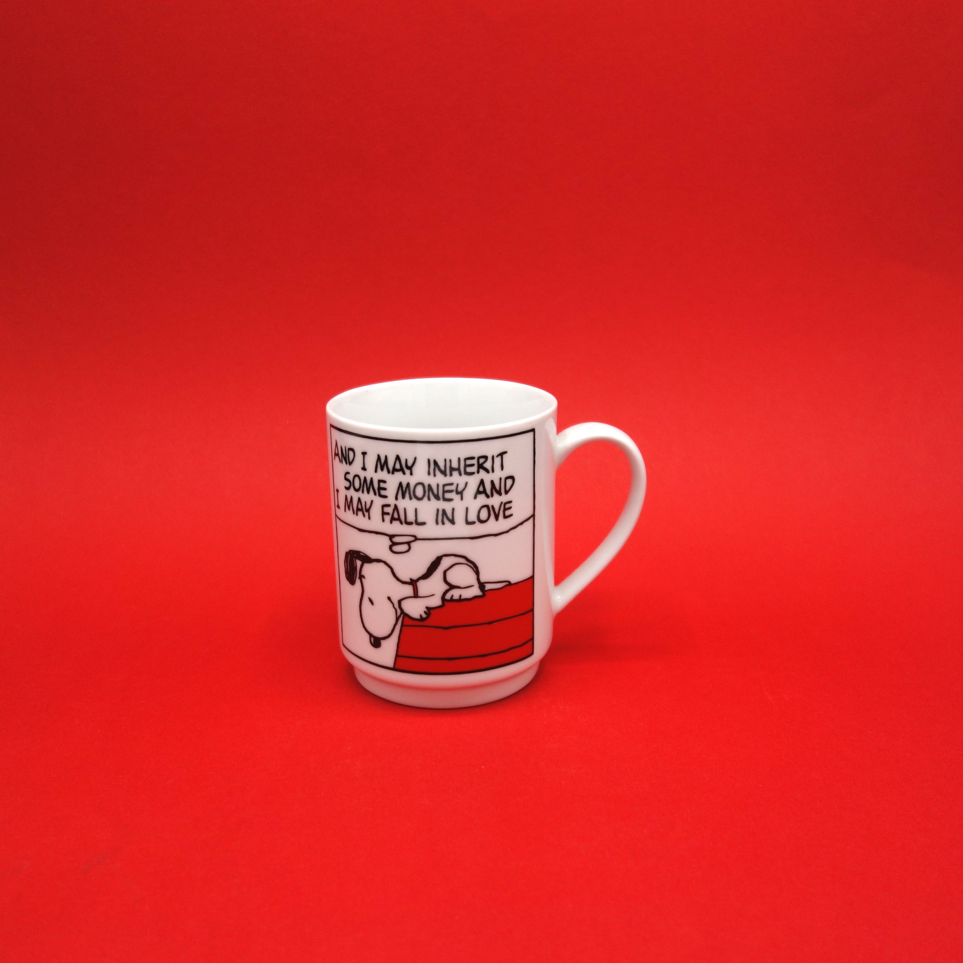 Snoopy Peanuts Tasse And I May Inherit...