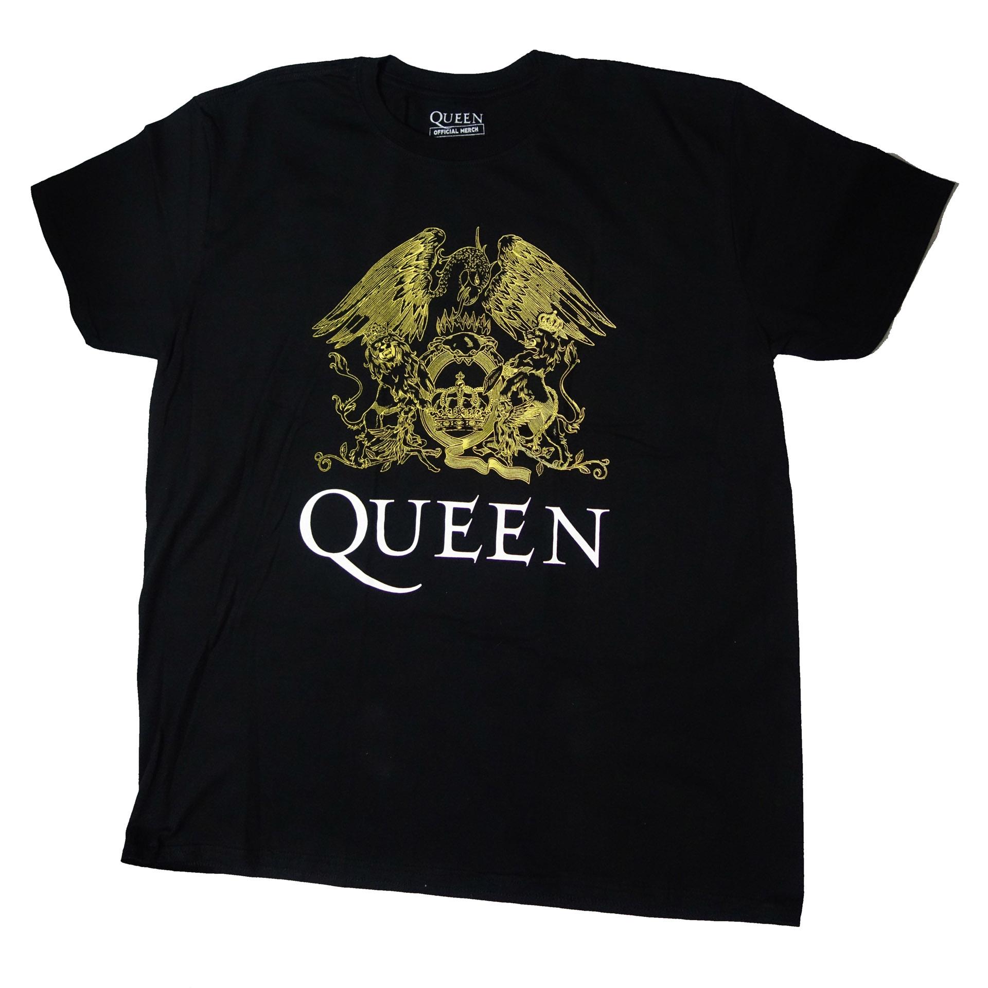 T-Shirt Queen Logo Gold