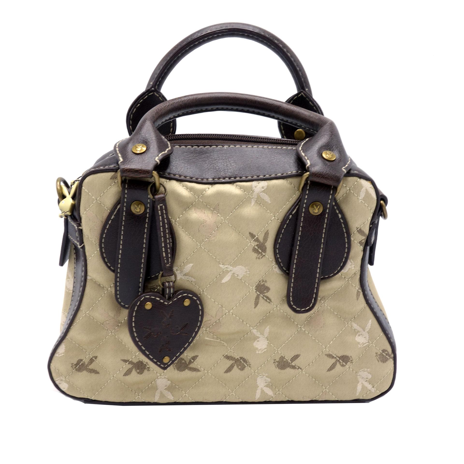 Playboy Handtasche Damen Brown Bunnys