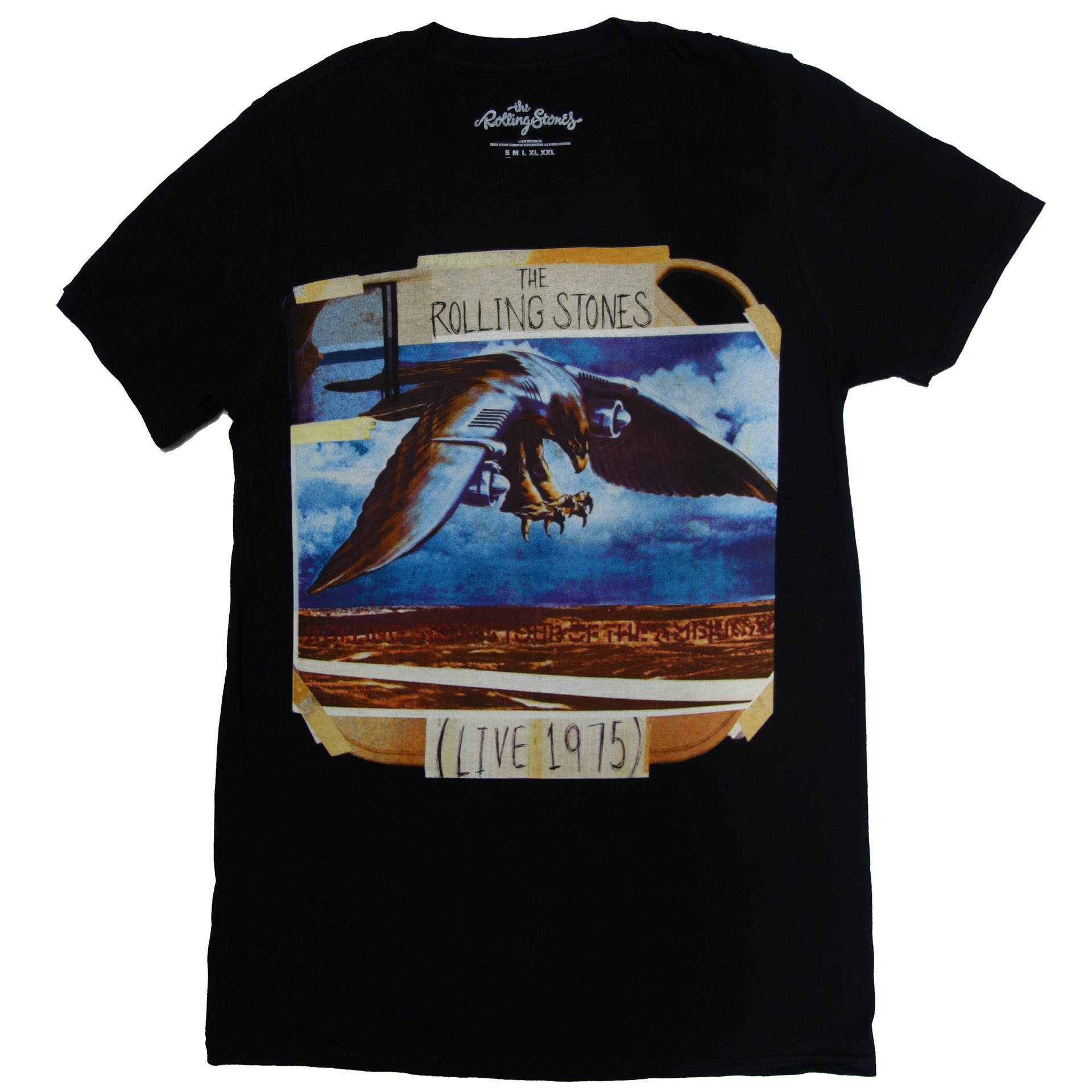 T-Shirt The Rolling Stones Live 1975