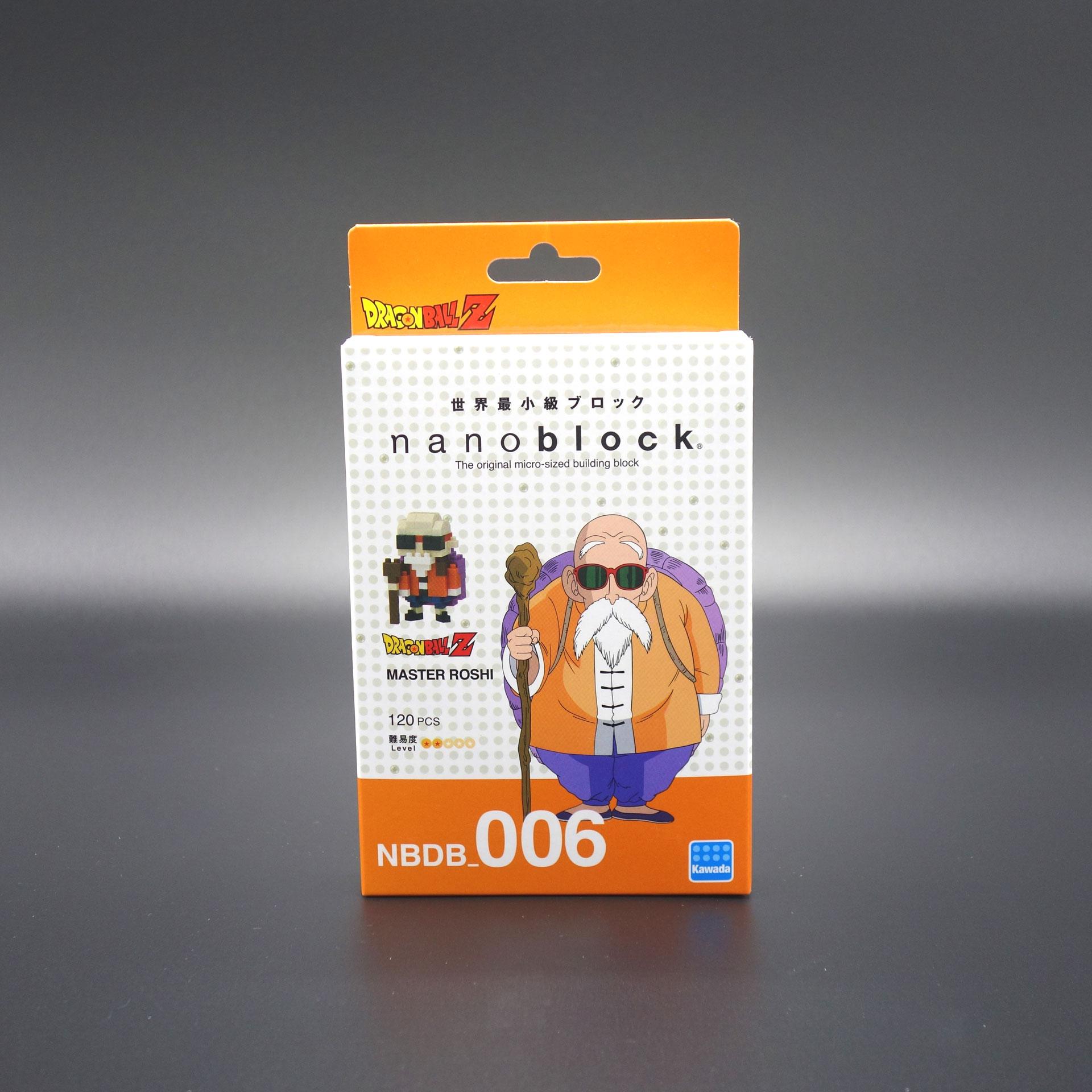 nanoblock Dragonball Z Master Roshi