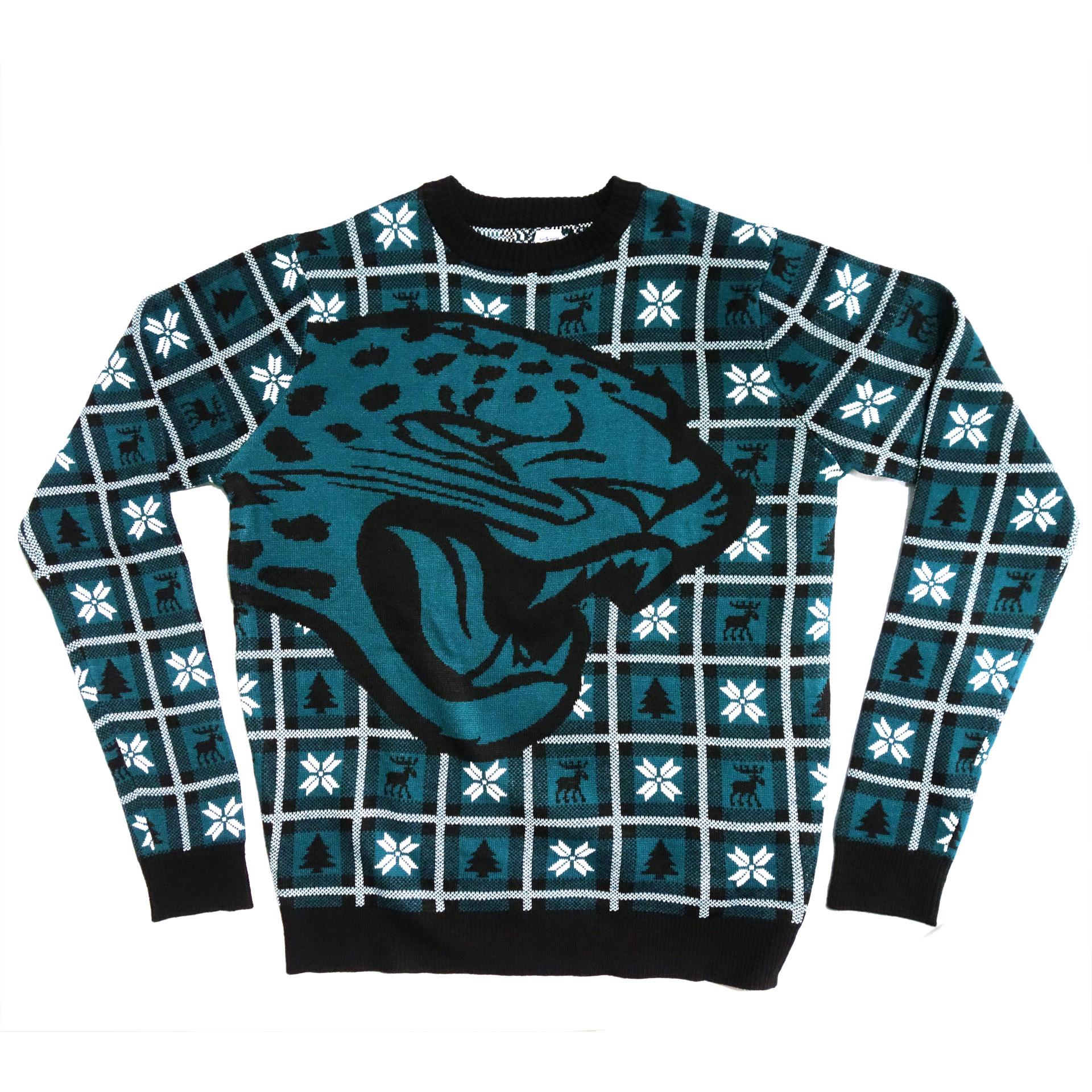 NFL Pullover Christmas Jasonville Jaguars Ugly Sweater