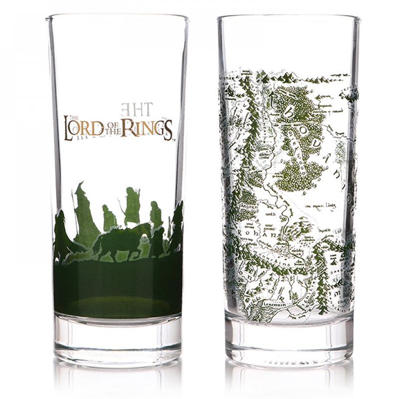 Der Herr der Ringe Gläser 2-er Set, Set of two Glasses