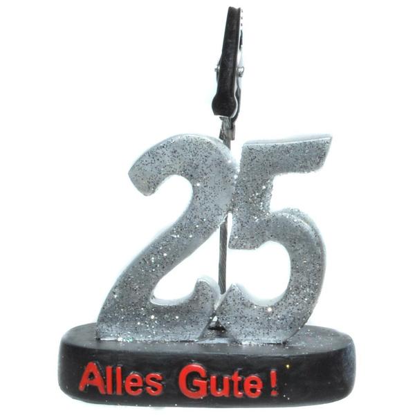 "Geburtstagsgeschenk Clip ""25"" Geldgeschenk"