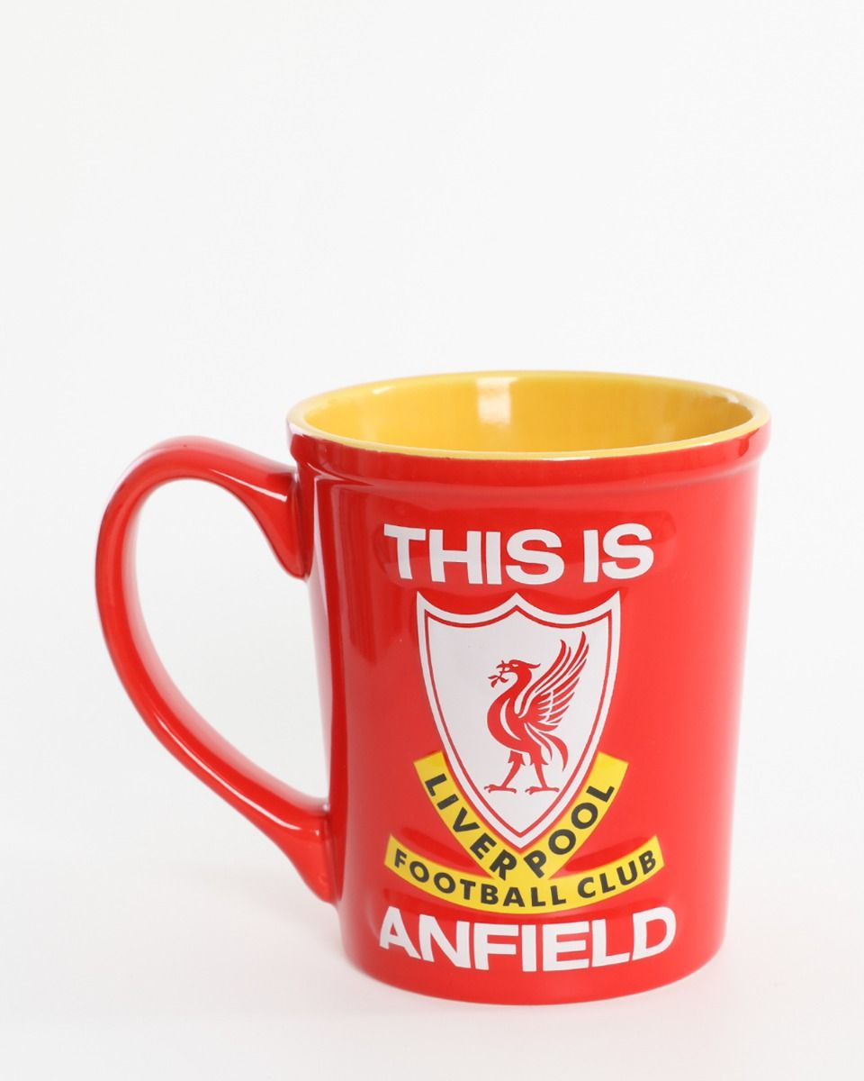 Liverpool FC Jumbo Tasse 3-D This Is Anfield Becher
