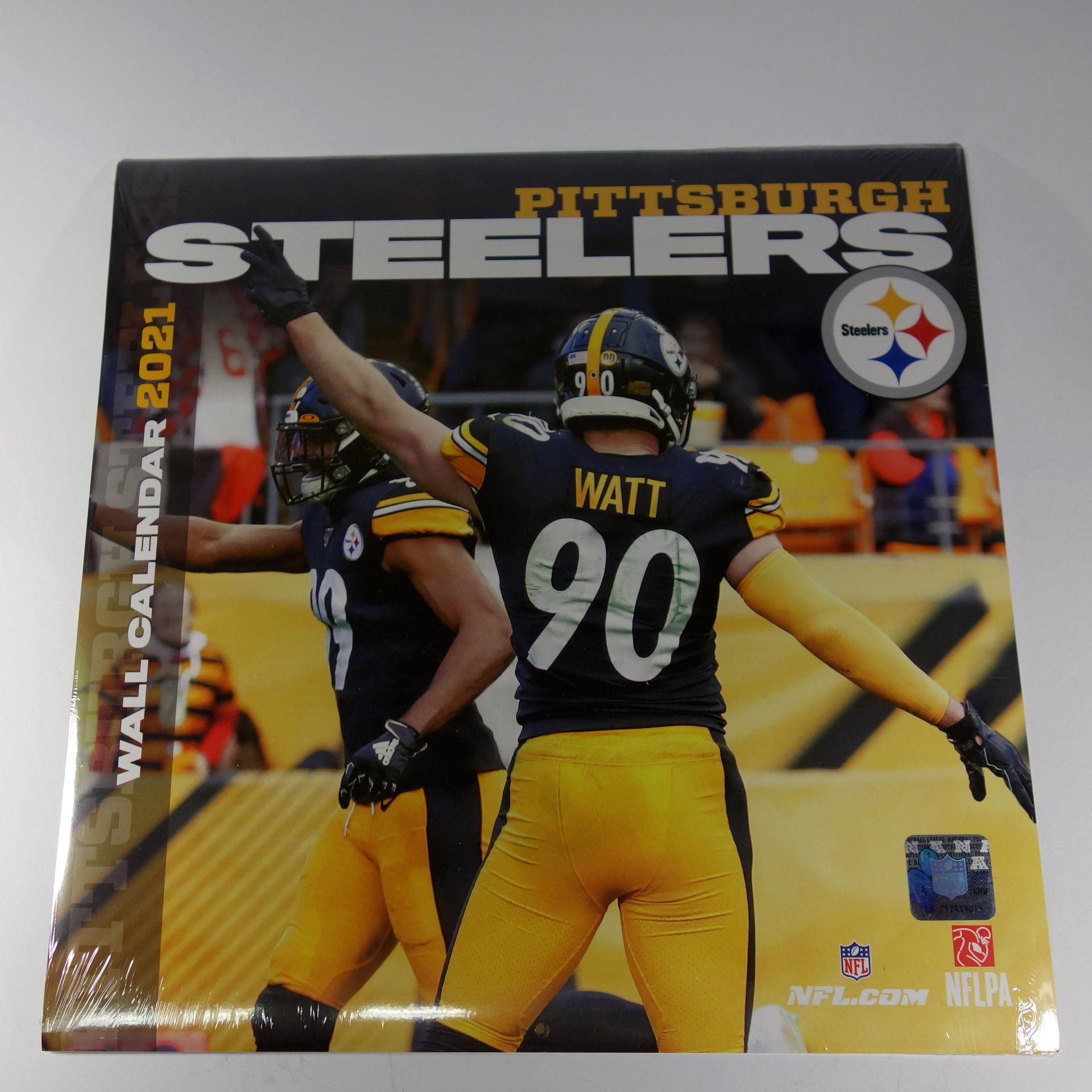 NFL Wandkalender Pittsburgh Steelers 2021