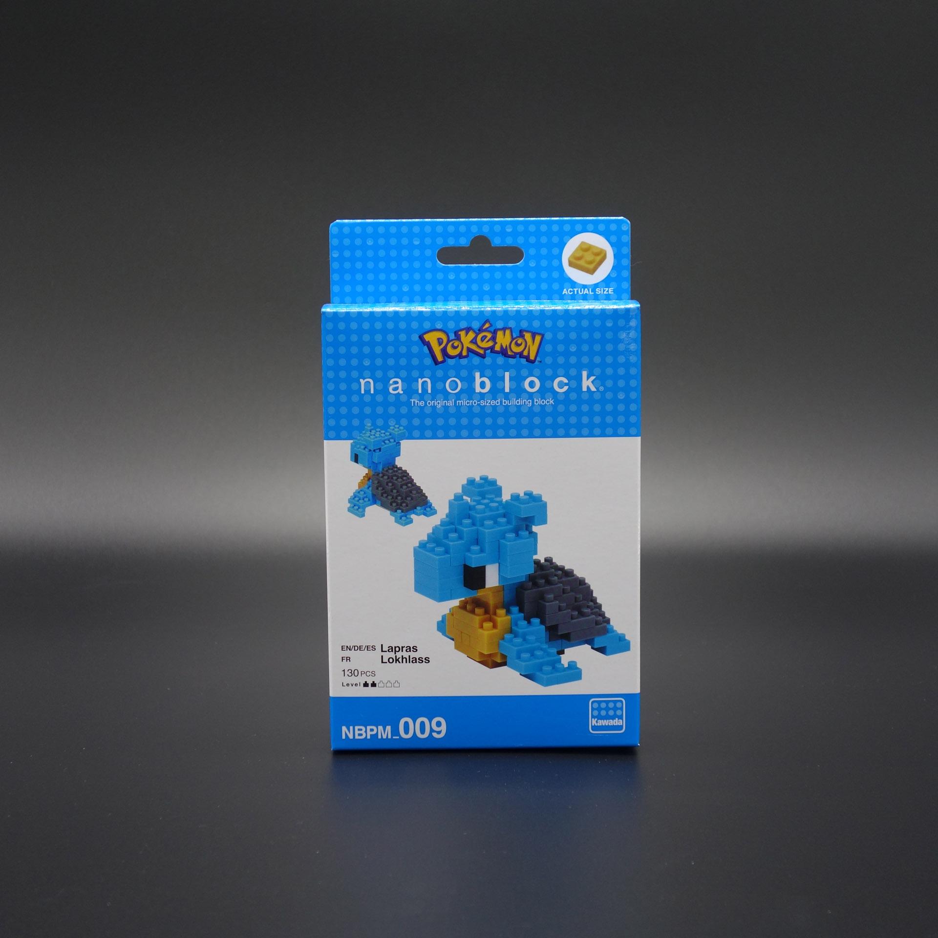 Pokemon nanoblock Lapras