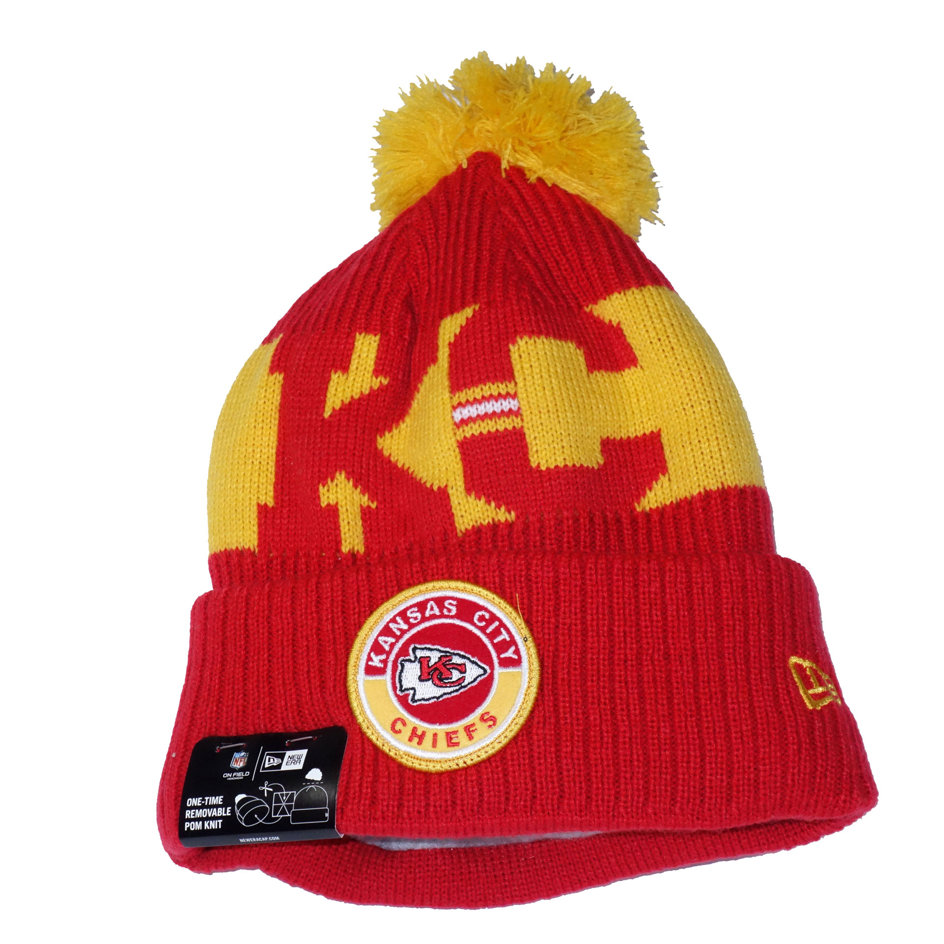 NFL Beanie Strickmütze Kansas City Chiefs