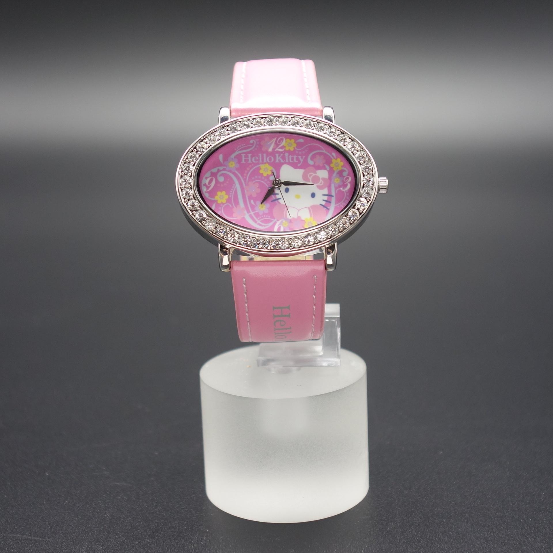Hello Kitty Damen Armbanduhr Pink