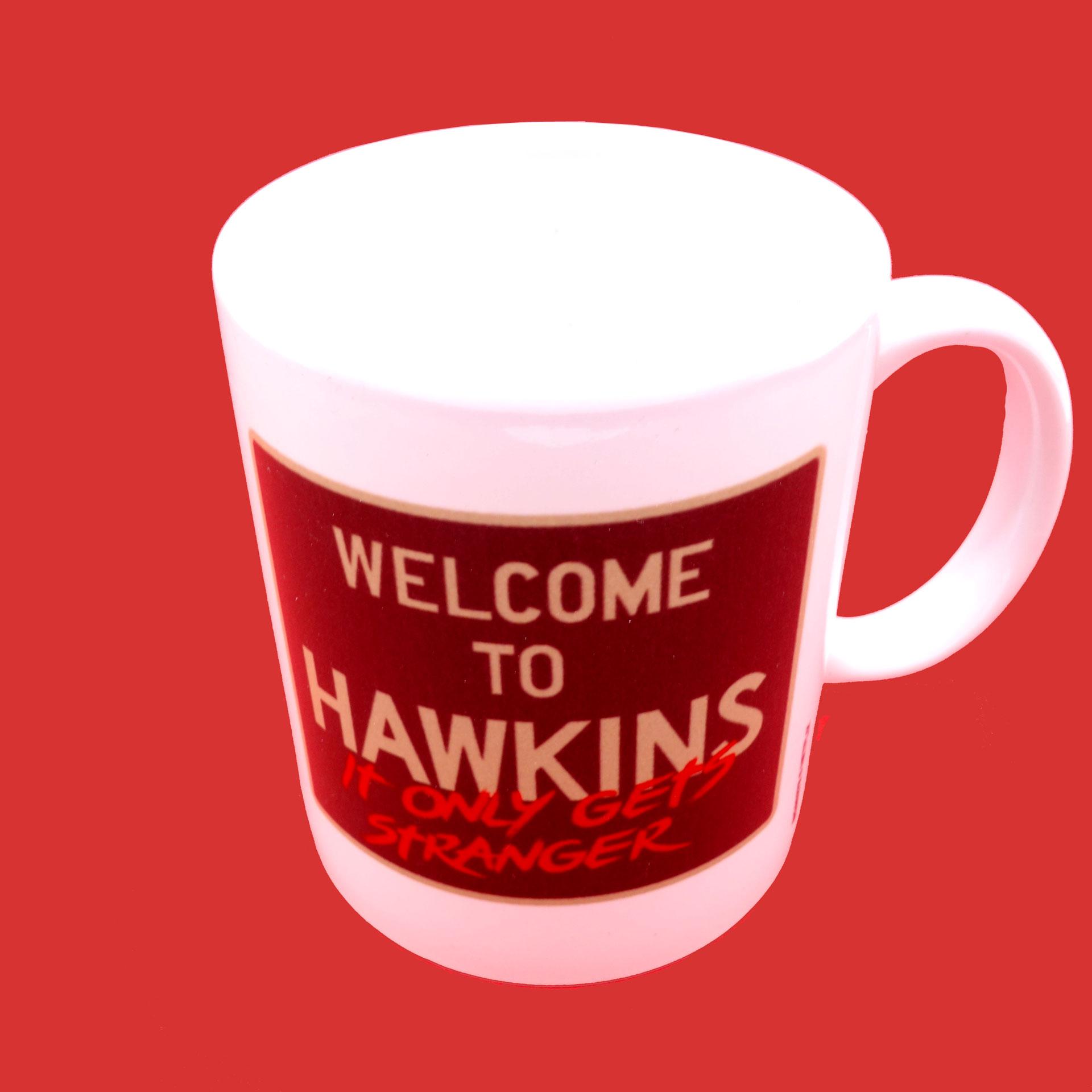 Stranger Things Becher Welcome To Hawkins Tasse