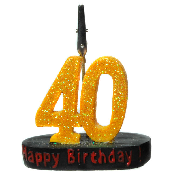 "Geburtstagsgeschenk Clip ""40"" Geldgeschenk"