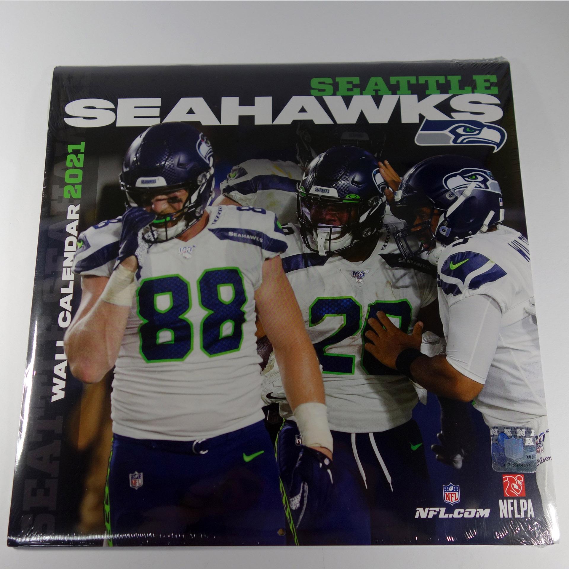 NFL Wandkalender Seattle Seahawks 2021