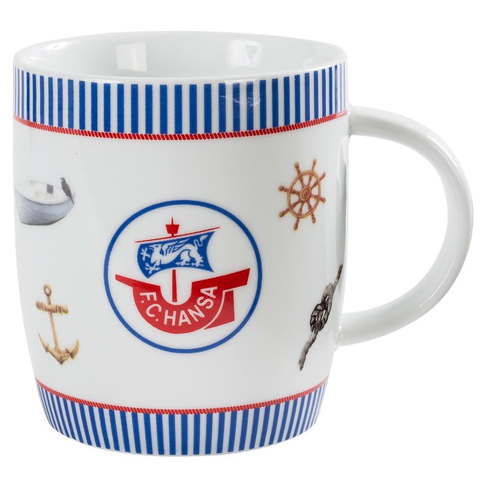 Hansa Rostock Tasse Maritim Becher