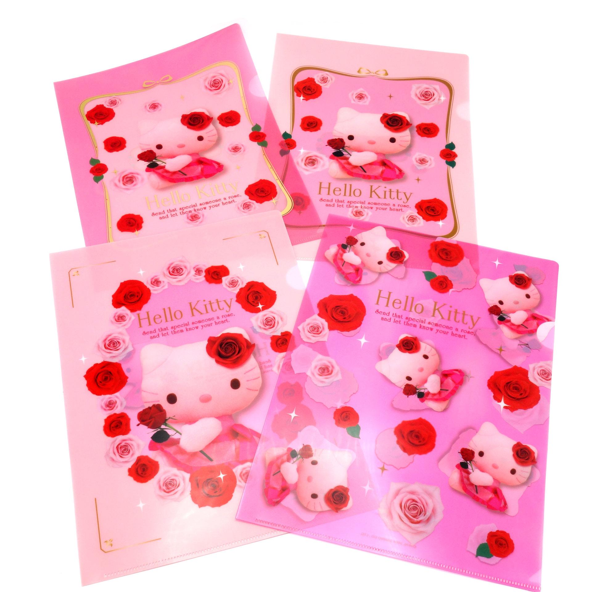 Hello Kitty Dokumente Mappe 4er Set