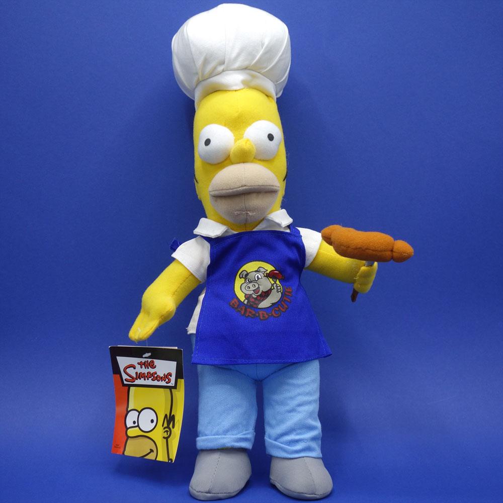 Homer Simpson Barbeque Plüsch Figur The Simpsons