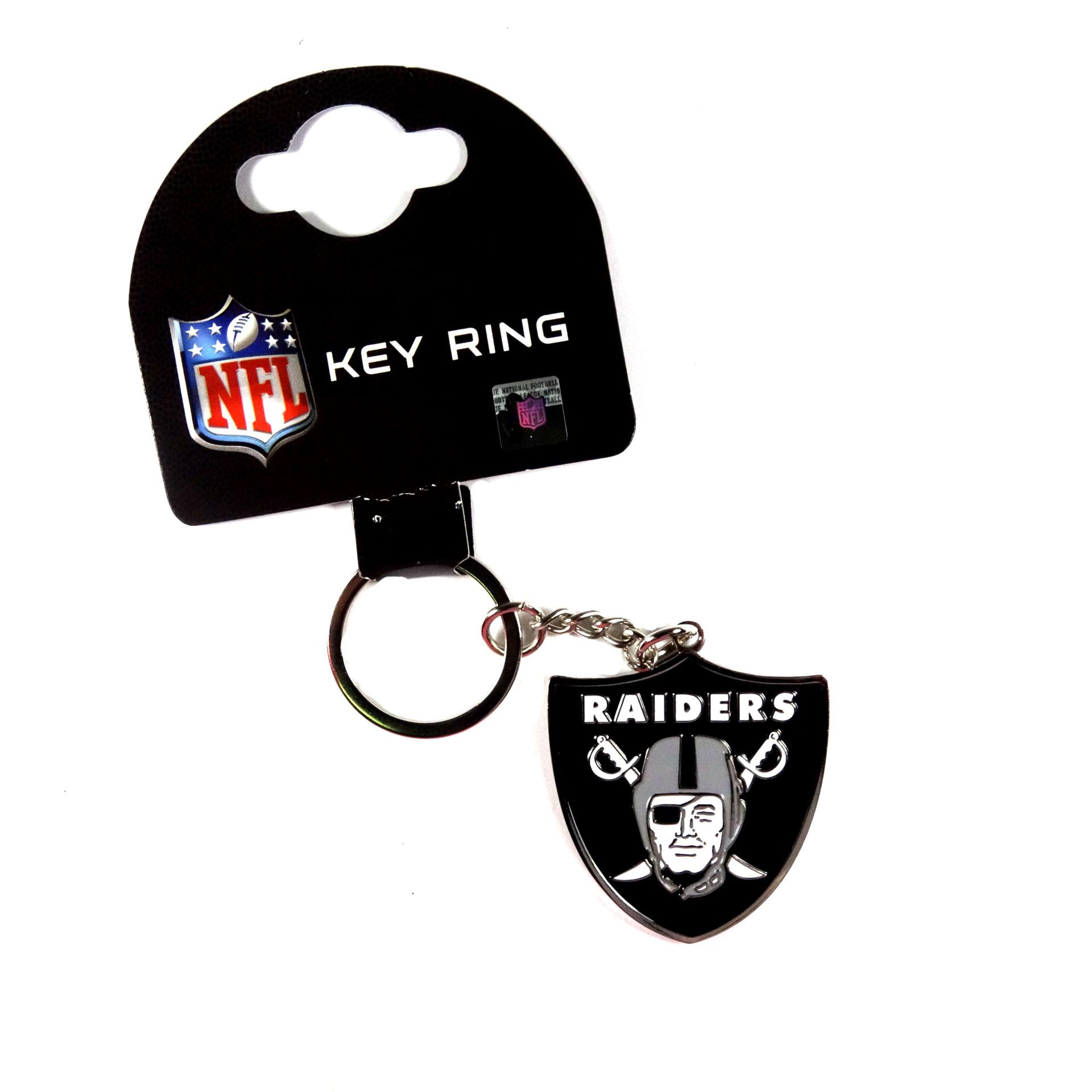 NFL Schlüsselanhänger Las Vegas Raiders