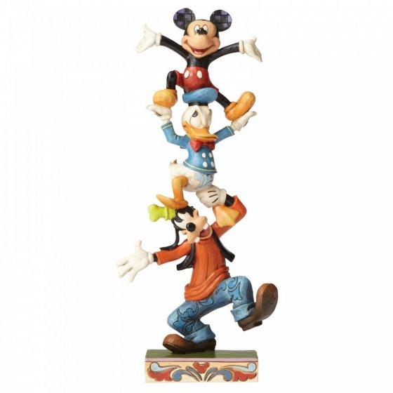 Sammelfigur Disney Mickey Mouse, Goofey, Donald & Mickey