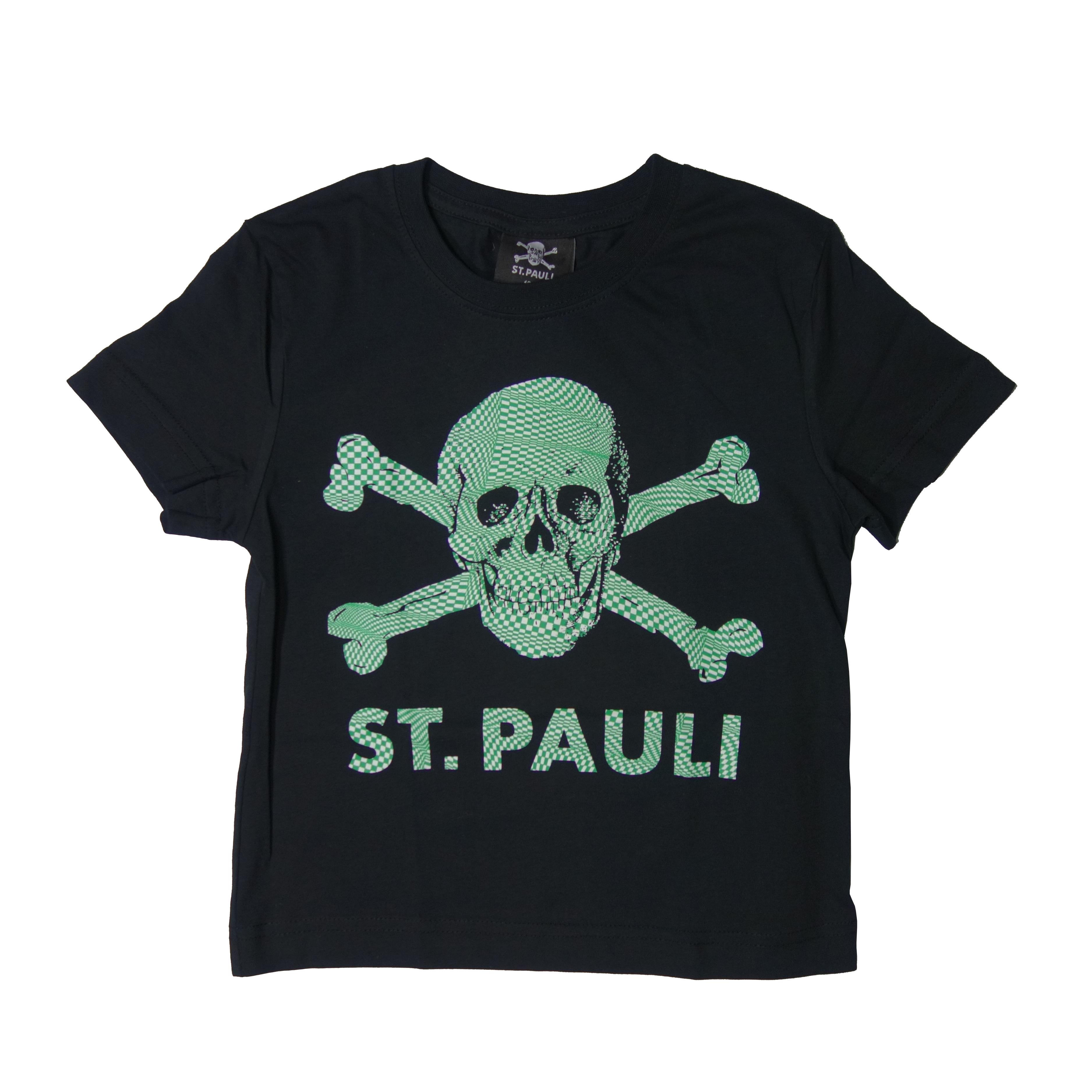 FC St. Pauli Kinder T-Shirt Totenkopf
