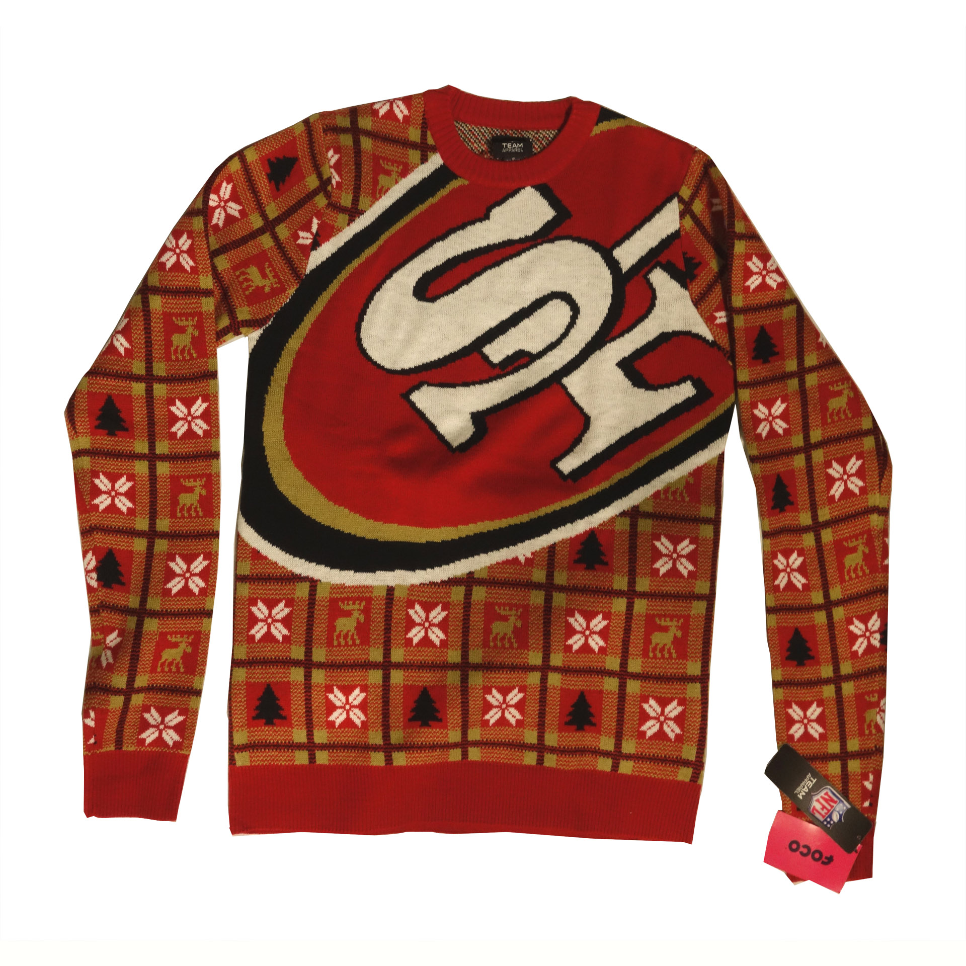 NFL Pullover Christmas San Francisco 49ers Ugly Sweater