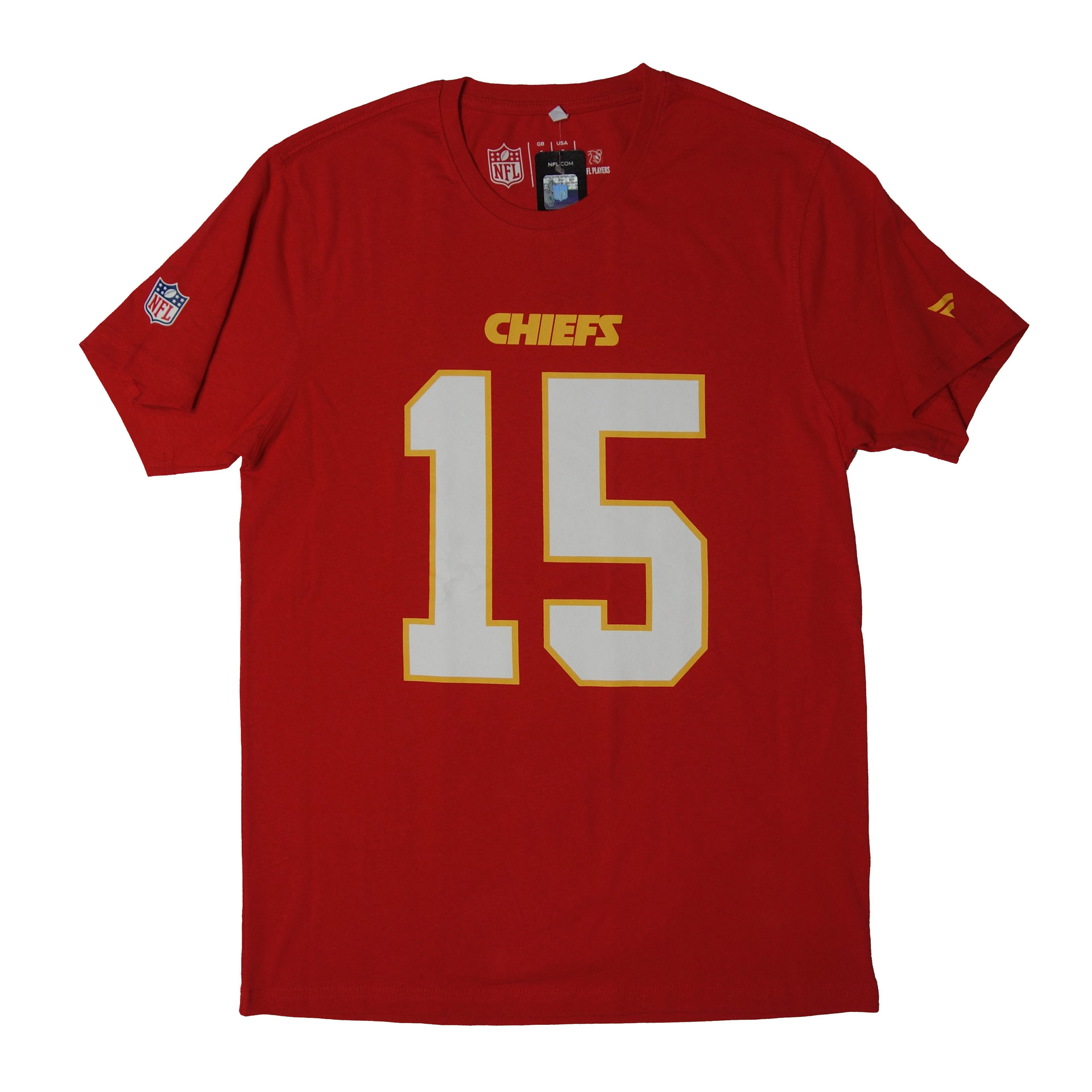 NFL Players T-Shirt Kansas City Chiefs Mahomes Nr.15