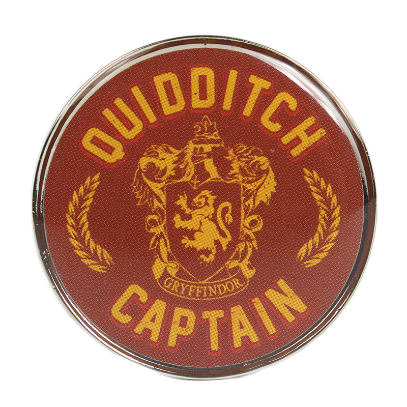 """Harry Potter Anstecker Pin Badge """"Quidditch Captain"""""""