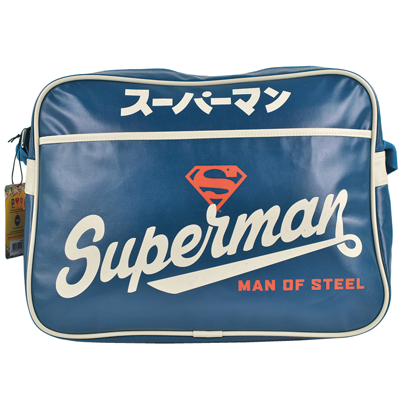Superman Man Of Steel Schultertasche Classic Tasche