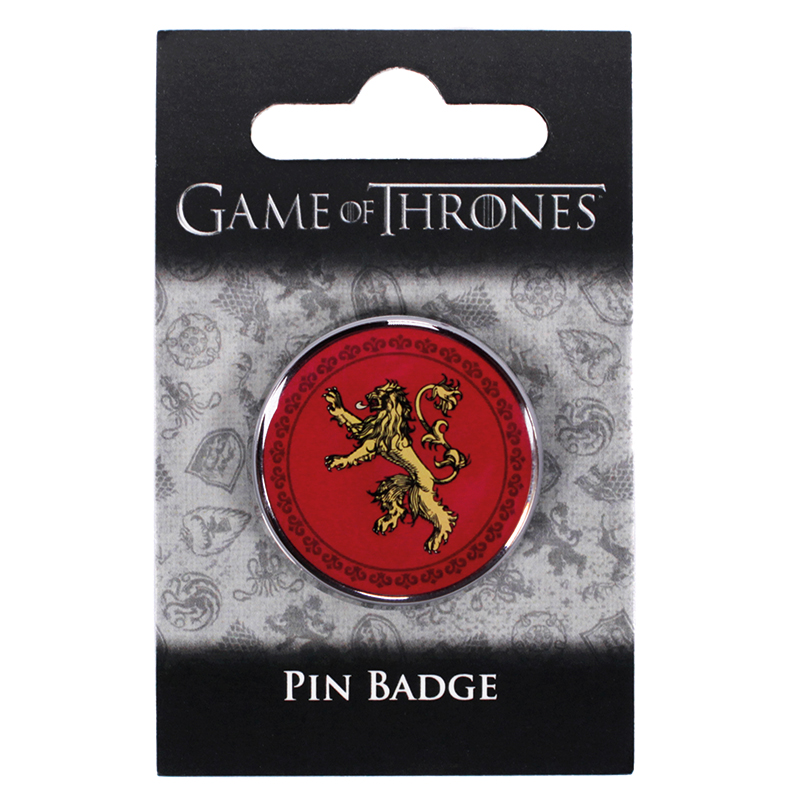 Game of Thrones Pin Badge