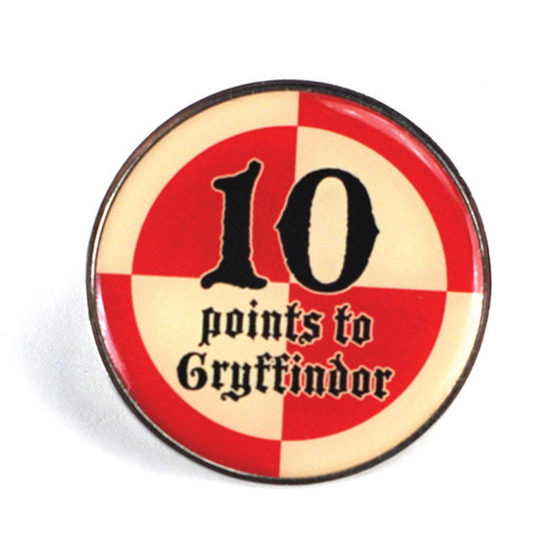 """Harry Potter Anstecker Pin Badge """"10 points to Gryffindor"""""""