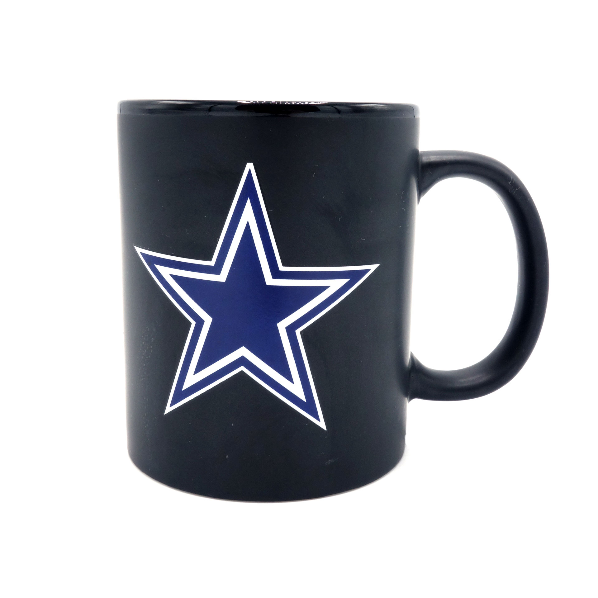 NFL Tasse Dallas Cowboys Black Matte Two Tone