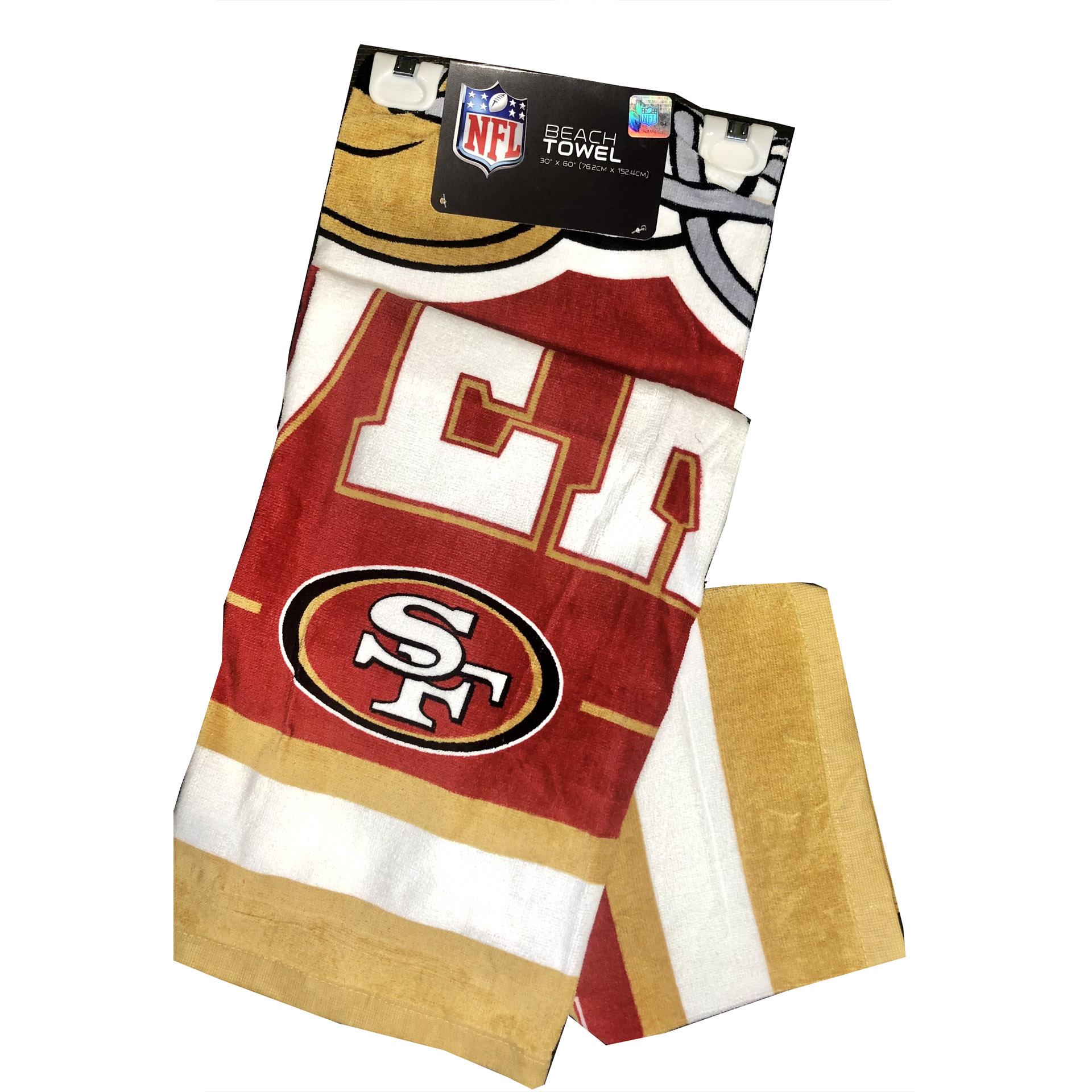 NFL Duschtuch San Francisco 49ers