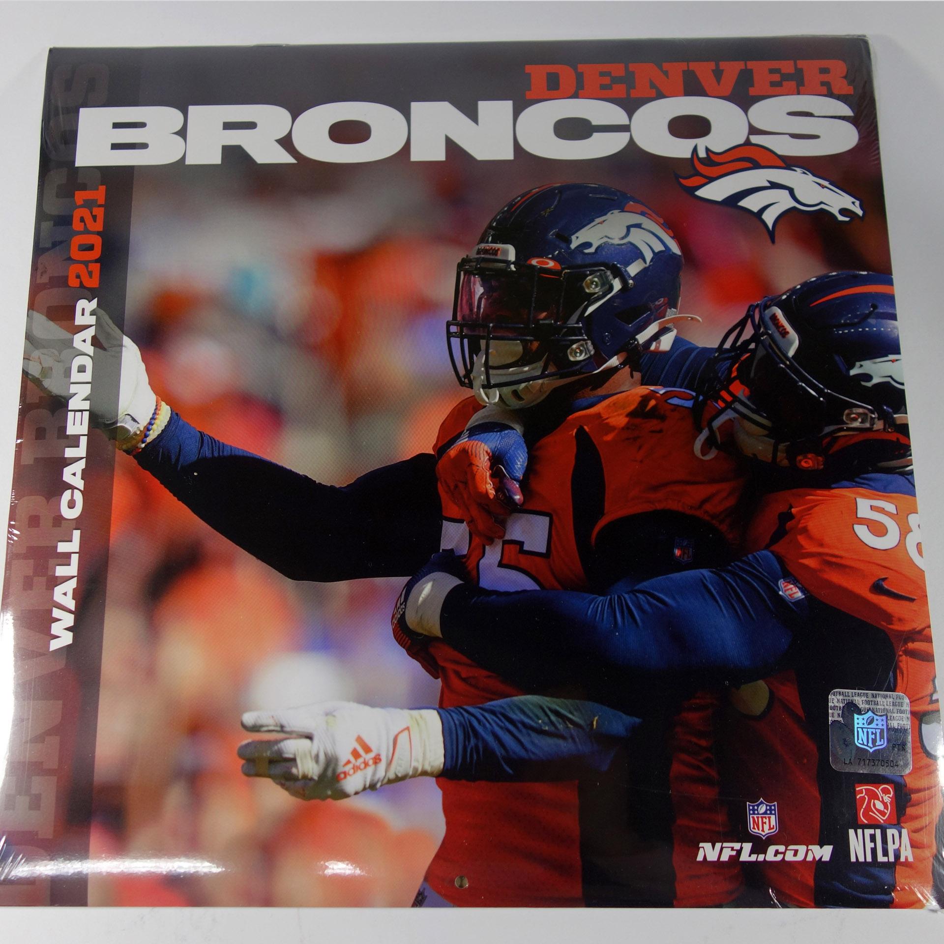 NFL Wandkalender Denver Broncos 2021
