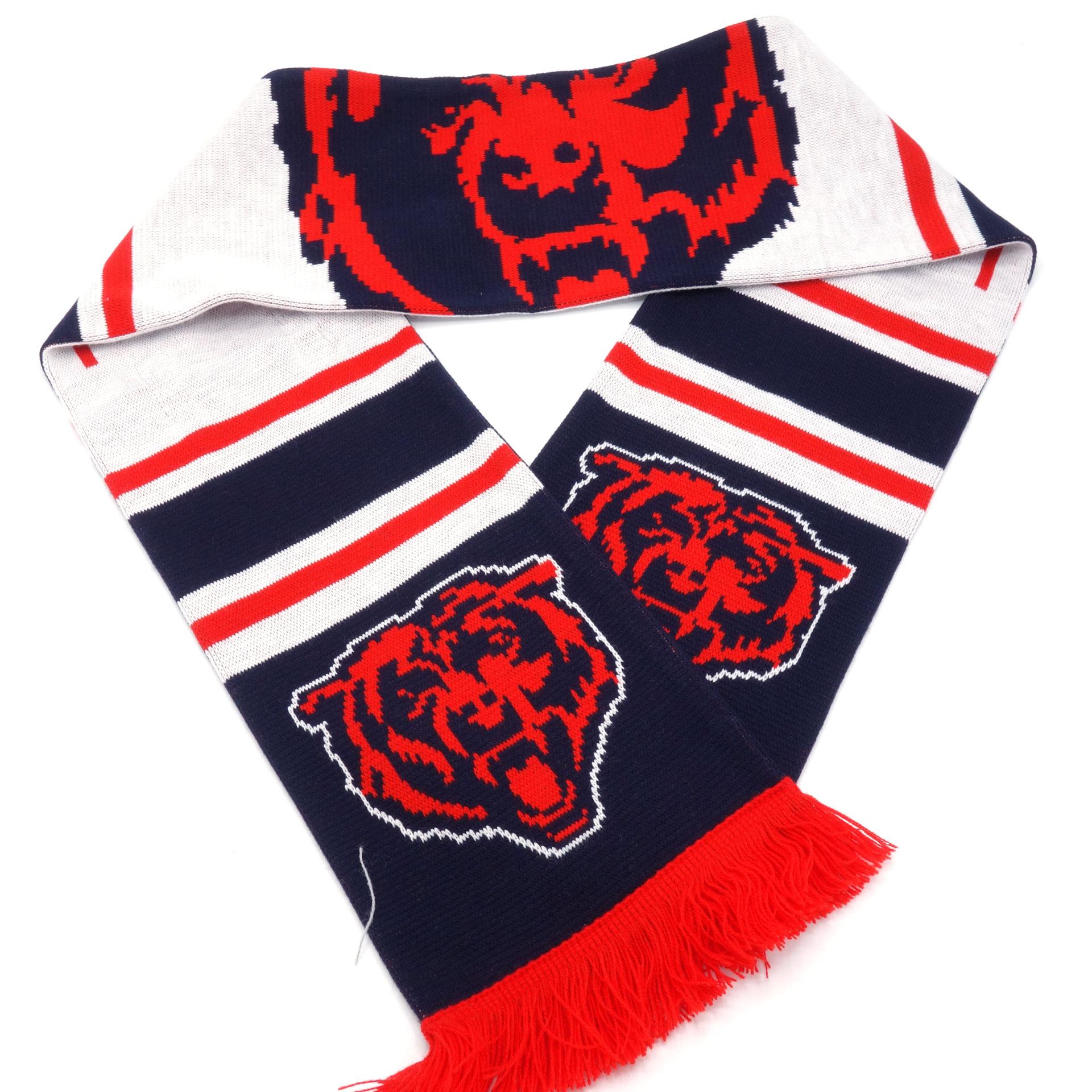 NFL Schal Chicago Bears Blau Rot Weiss