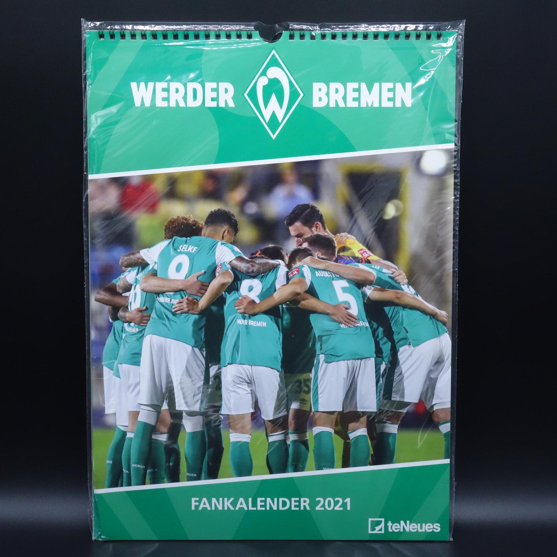 Werder Bremen Fankalender 2021