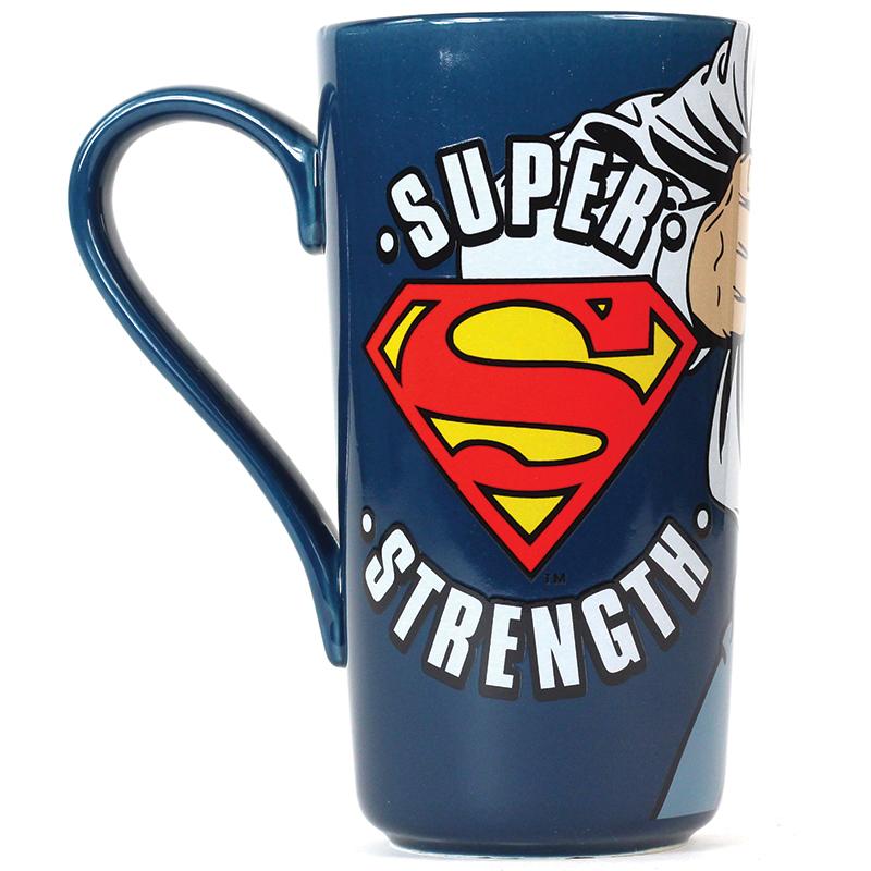 Superman Milchkaffee Tasse Latte Mug